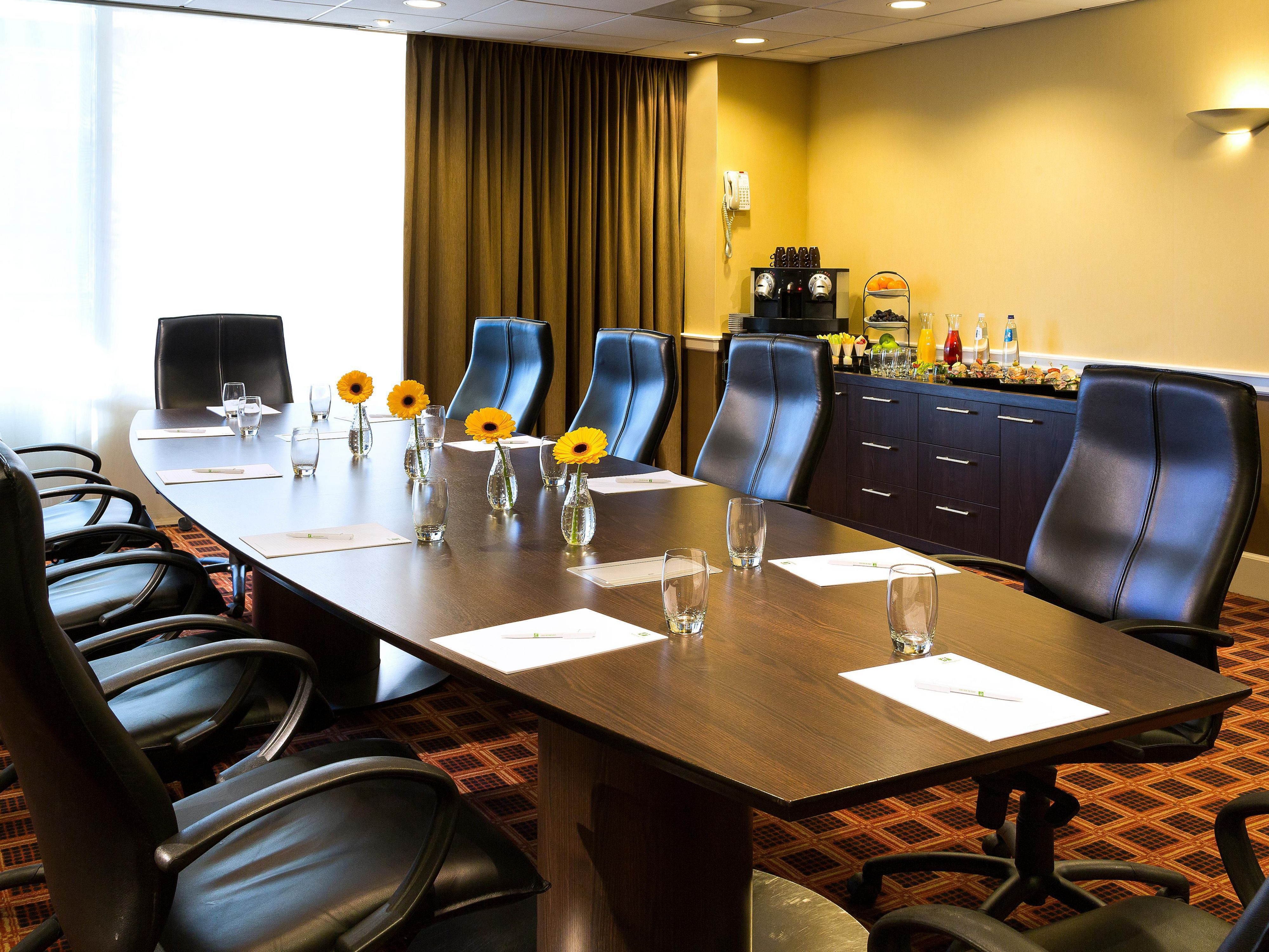 Spacious Boardroom with natural daylight