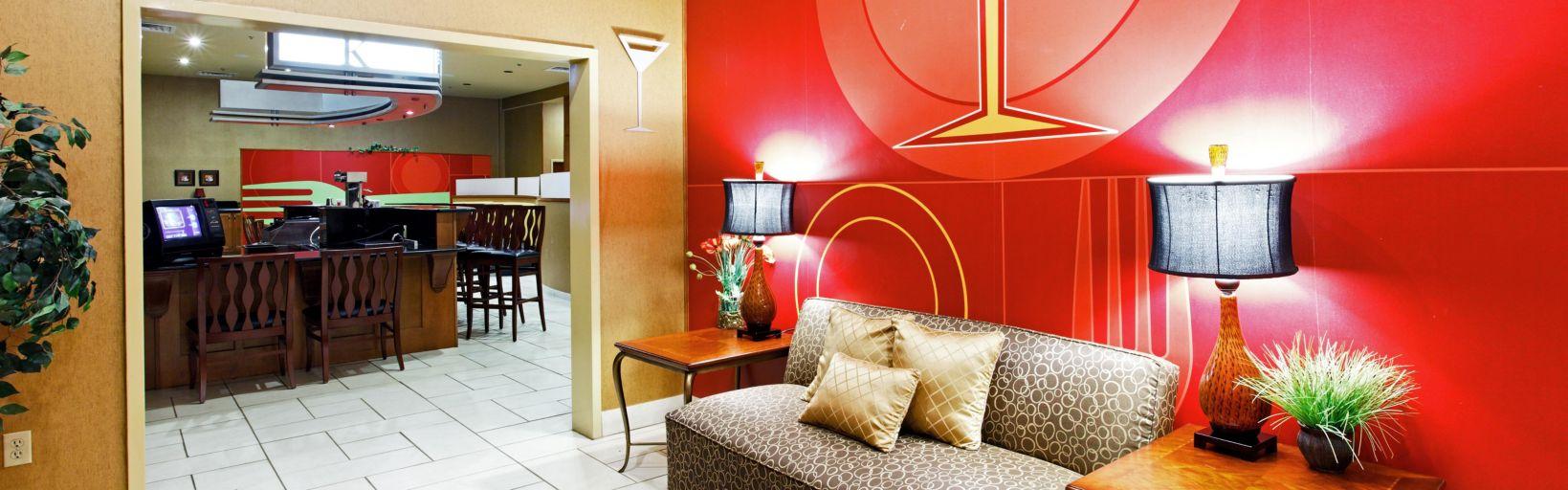 Hotel Lobby 8 Miles From Sardis Lake