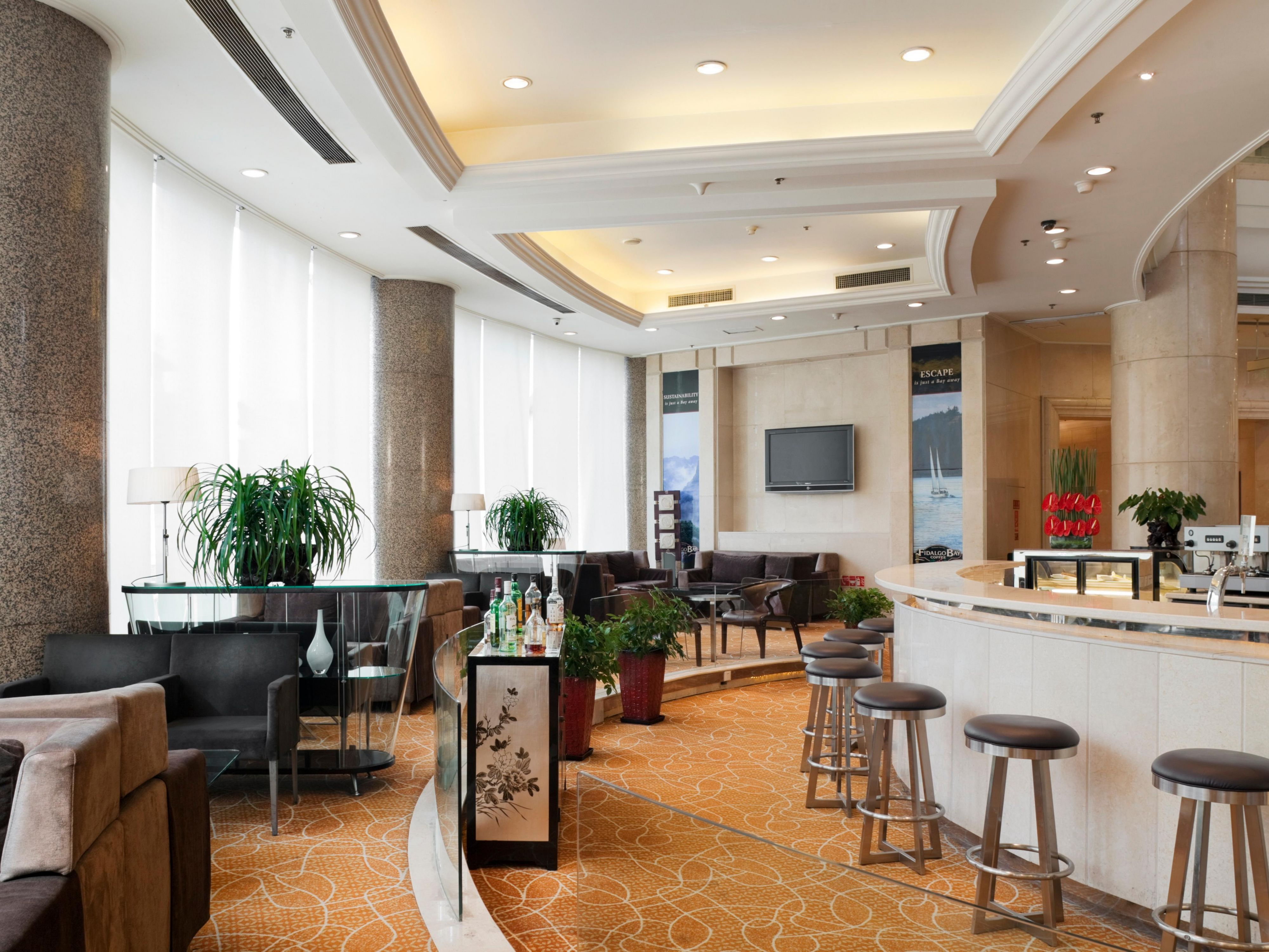 Lobby Lounge of Holiday Inn Beijing Chang An West