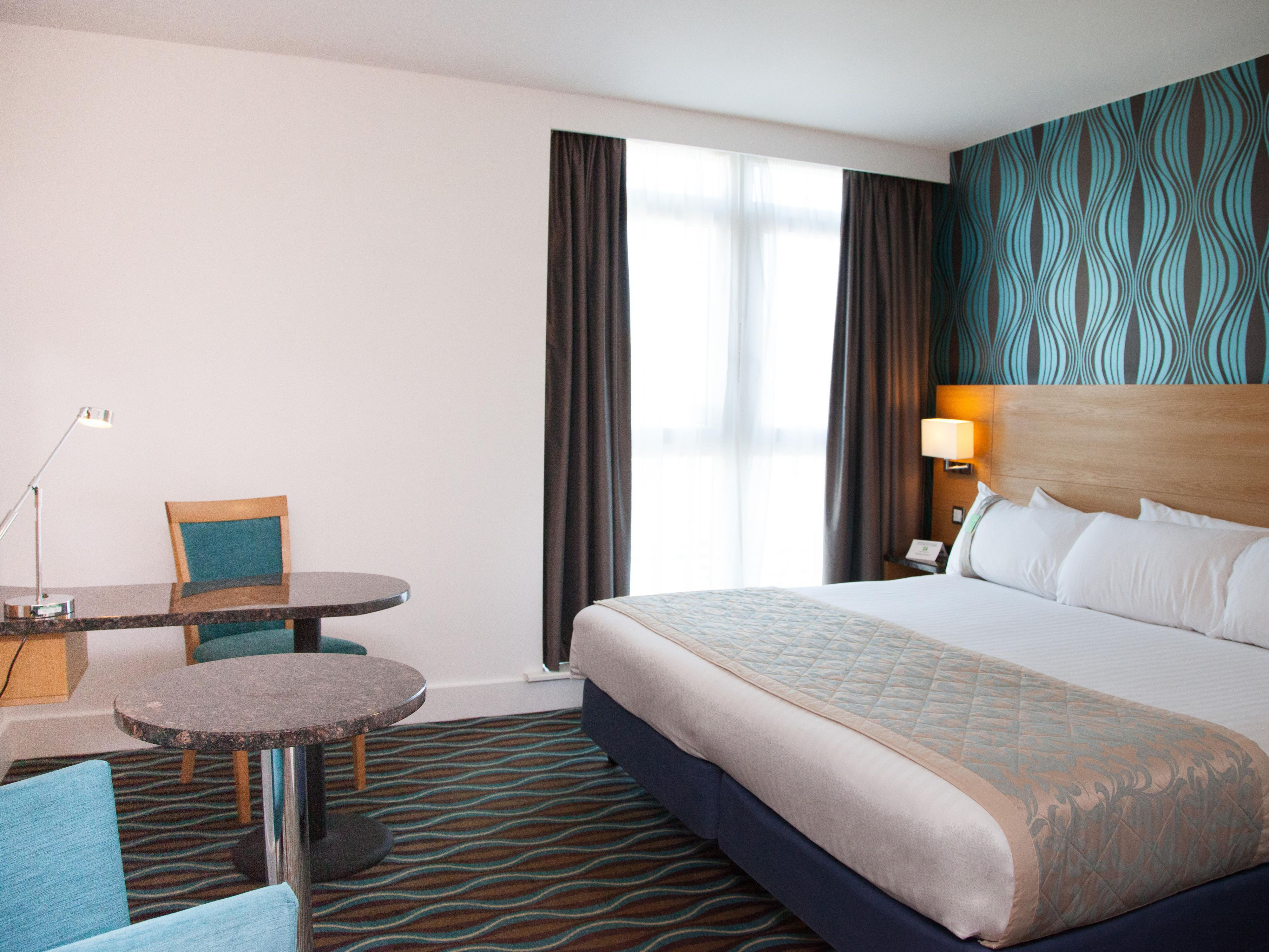 Relax in one of our comfortable Double guest Bedrooms