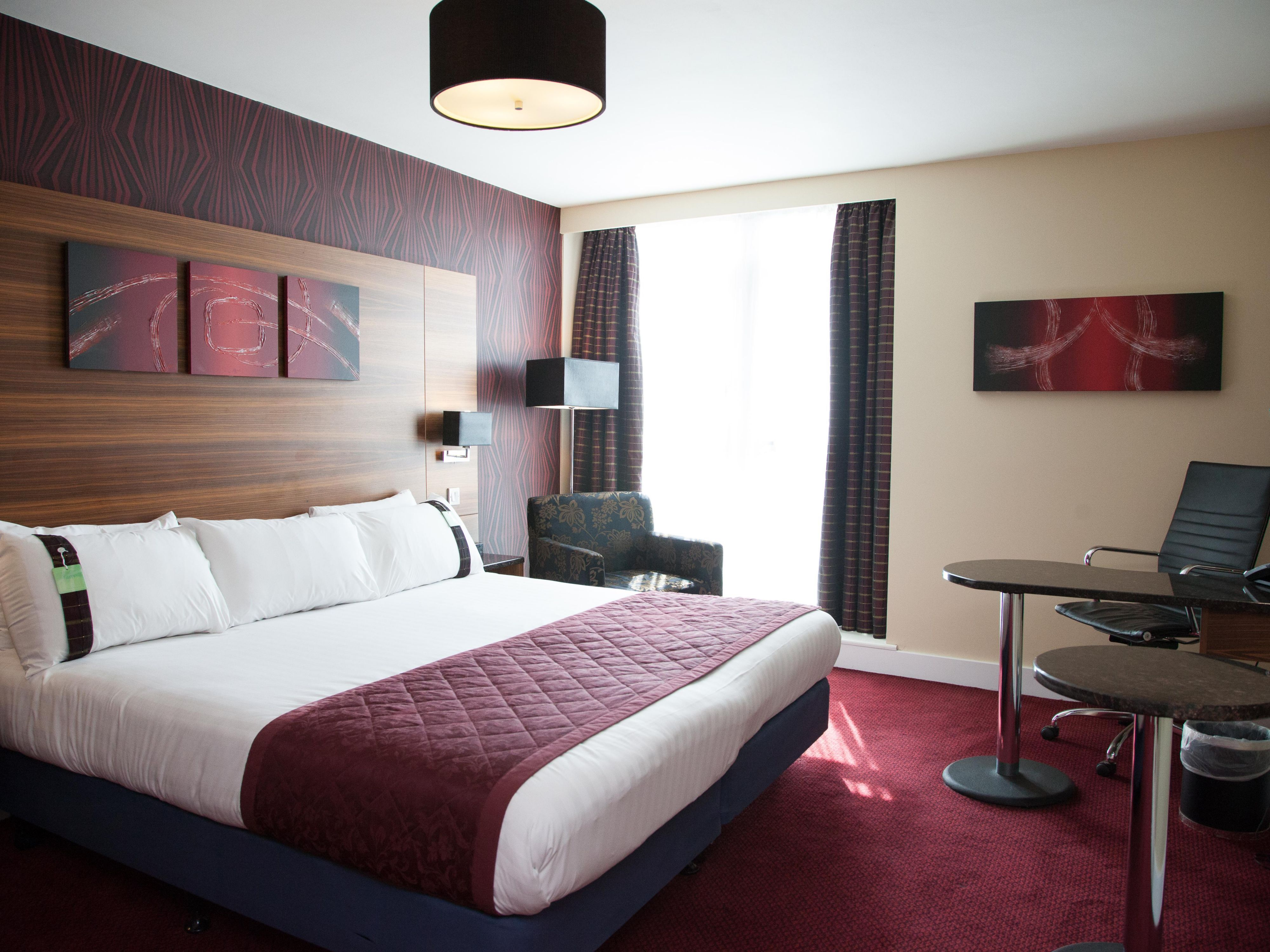 Make yourself at home in one of our Executive Guest rooms