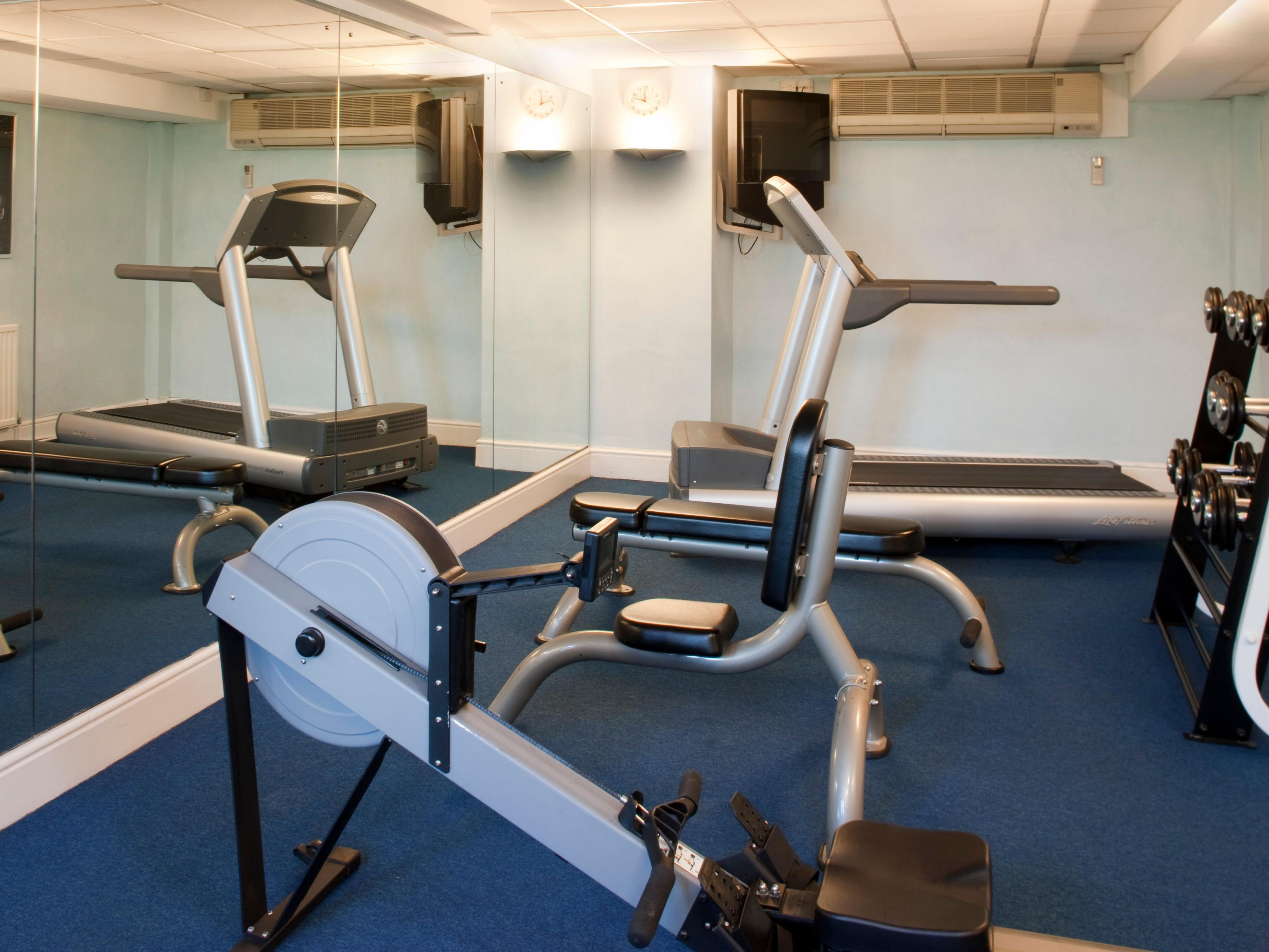 Unwind and re-energise in our fitness room