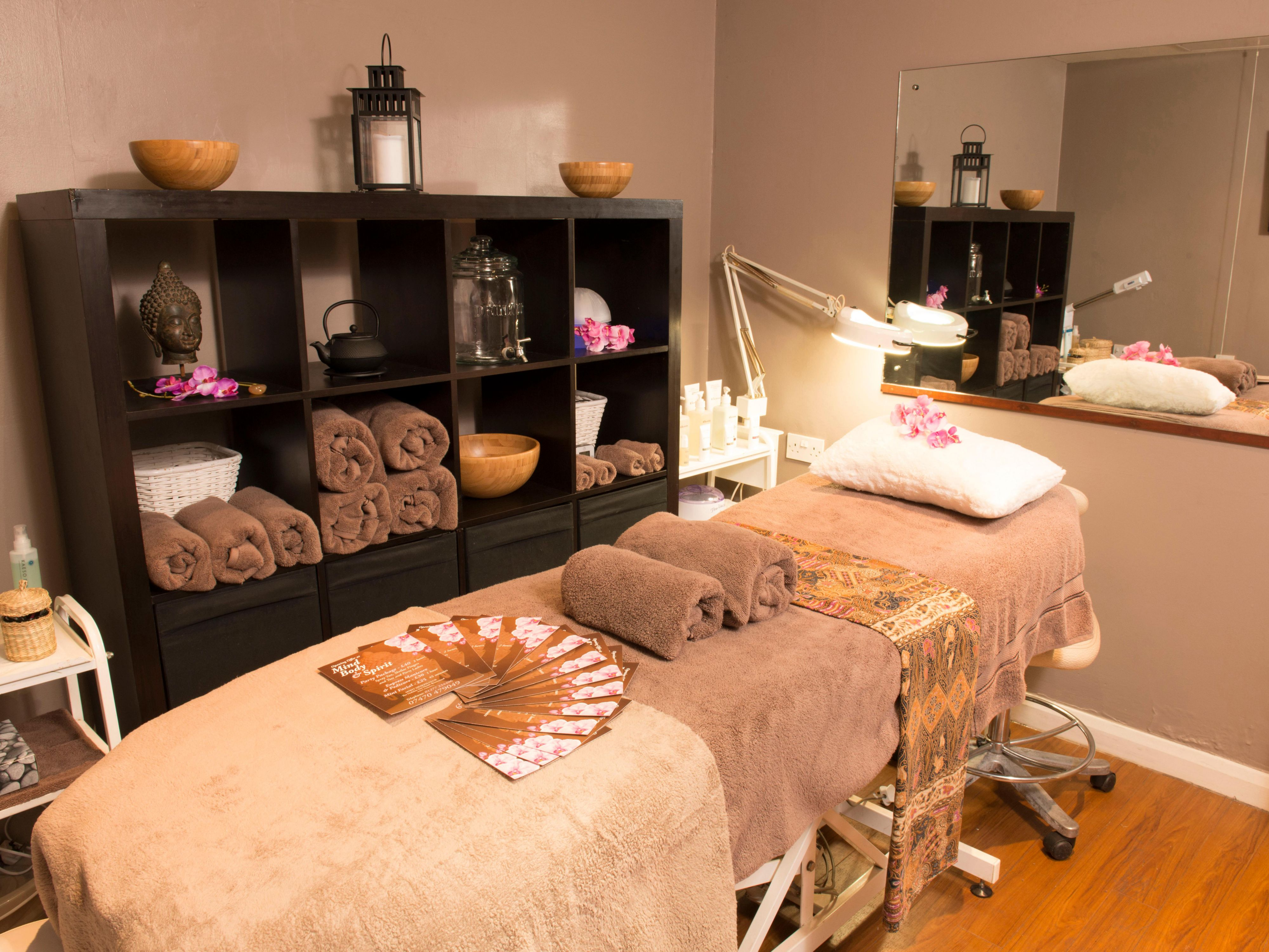 Beauty treatments available with on site beautician