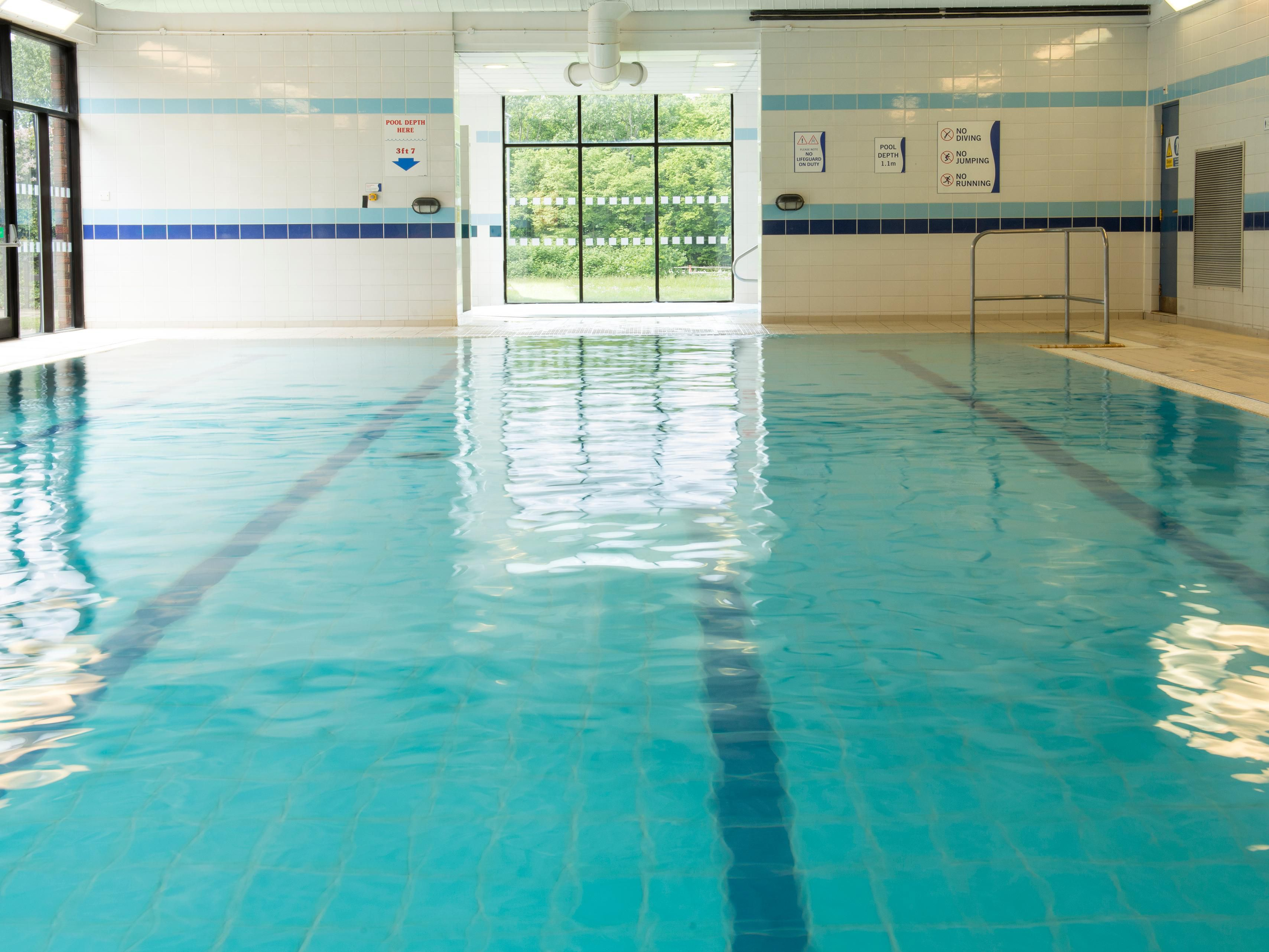 Relax in our Spirit Health Club Swimming Pool
