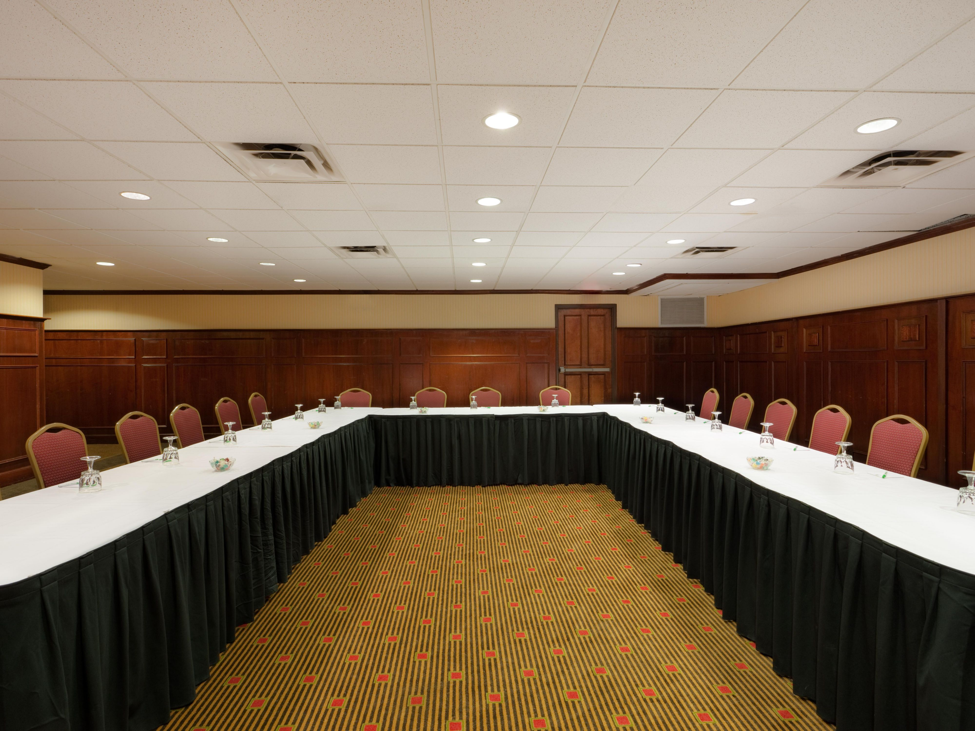 The Board Room is perfect for Brookline MA business meetings.