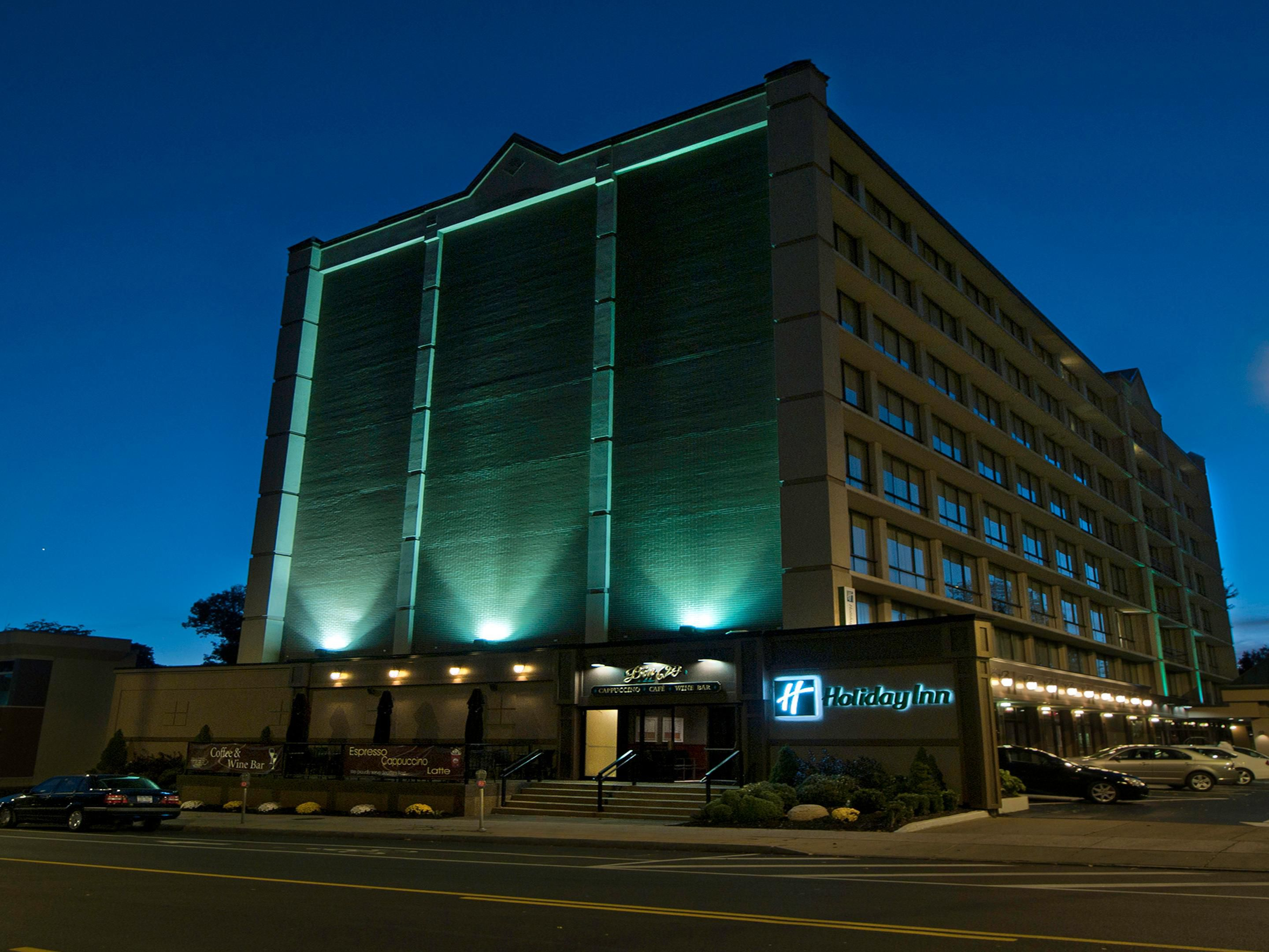 Welcome to Holiday Inn Buffalo Downtown overlooking Delaware Ave.