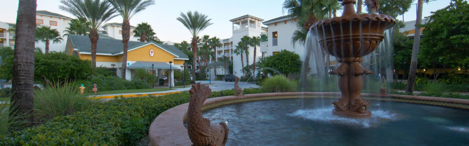 Holiday Inn Club Vacations Cape Canaveral Beach Resort Beautiful Landscaping Surrounding The