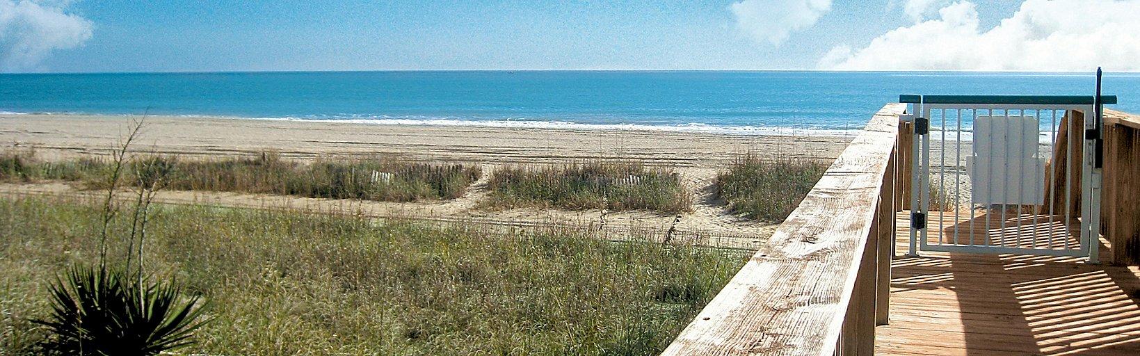 2ccbb4d5a13d Enjoy the convenient board-walk style path down to the beach ...