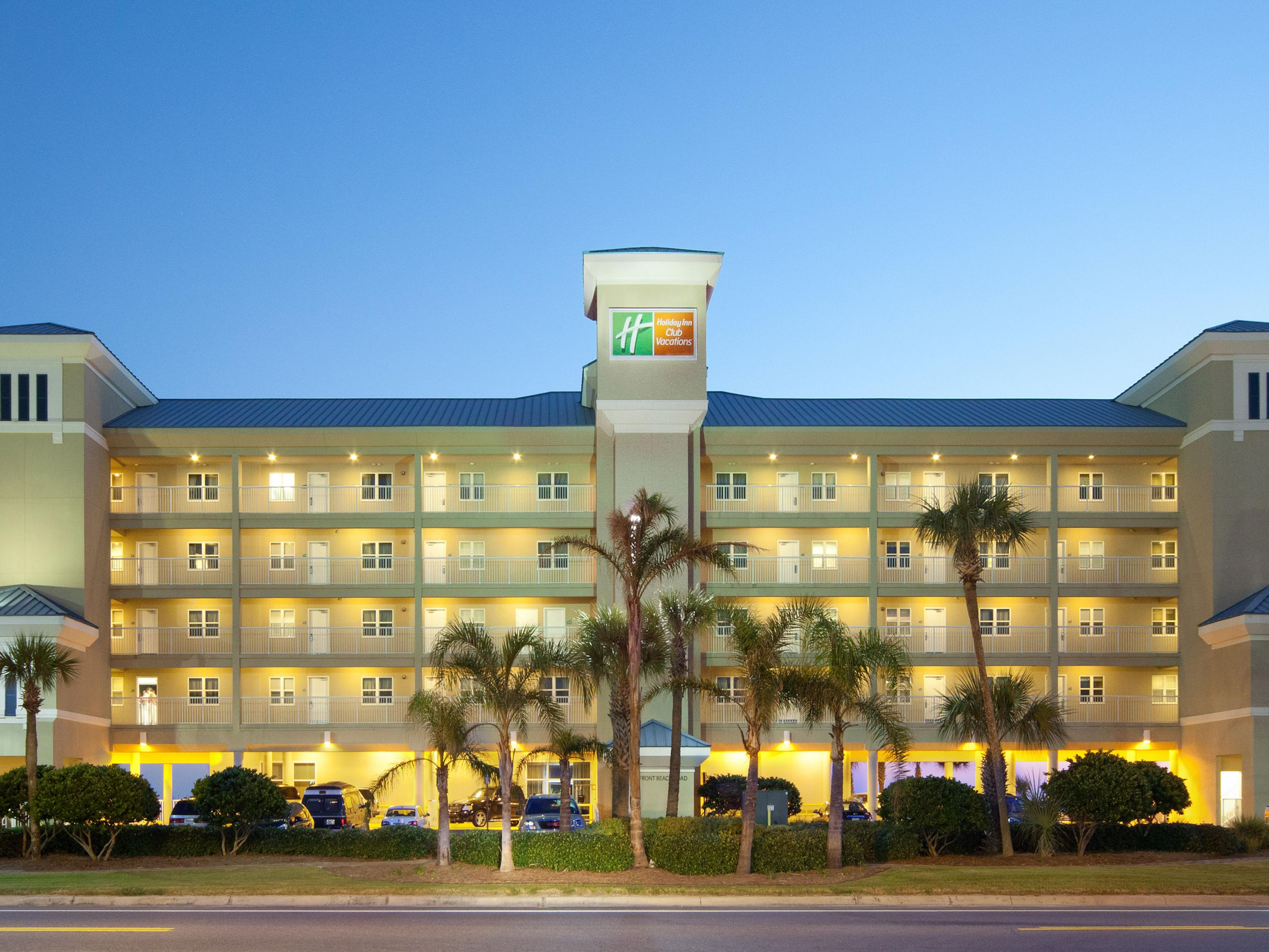 The Holiday Inn Panama City Beach
