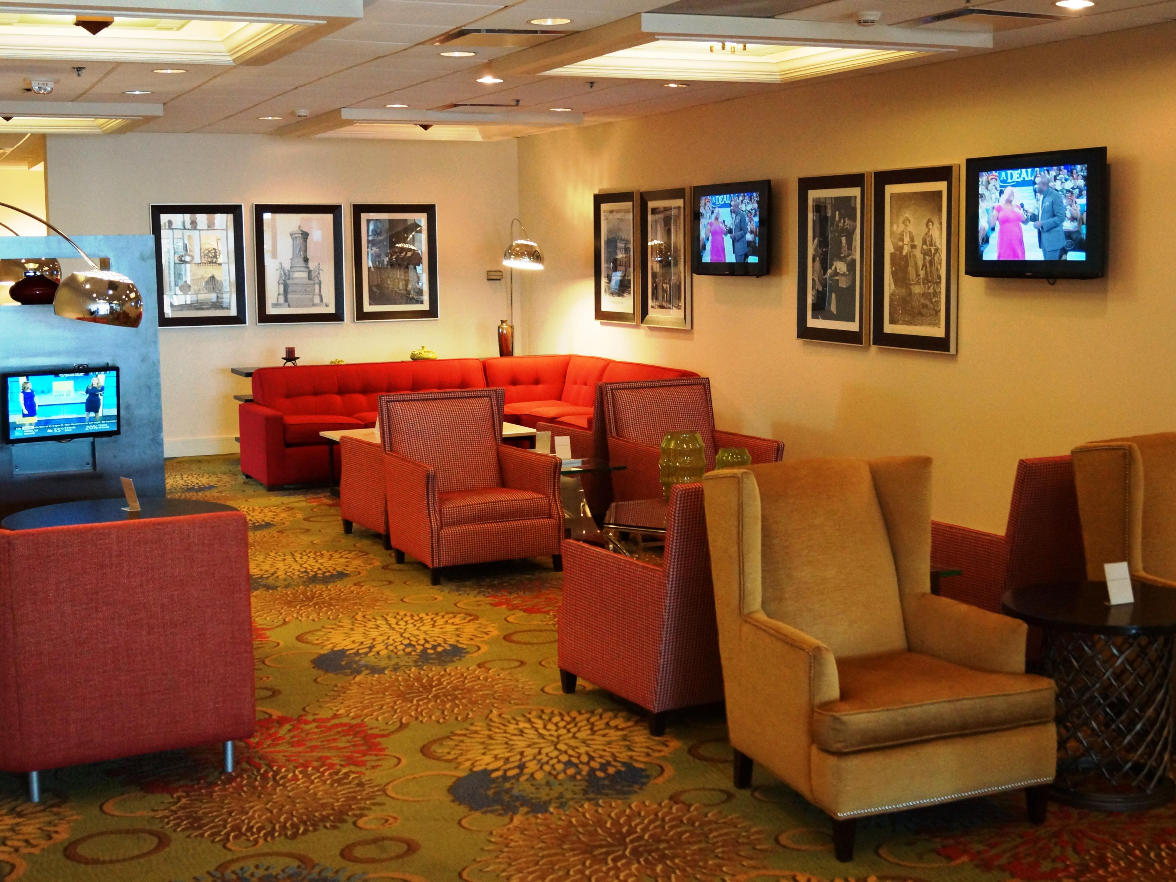 The perfect place to relax and catch up on news or sports