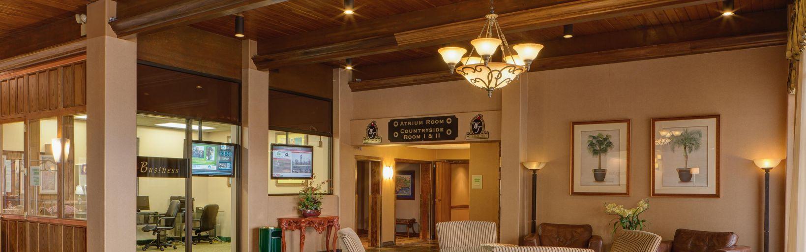 Countryside Hotel Exterior Lobby