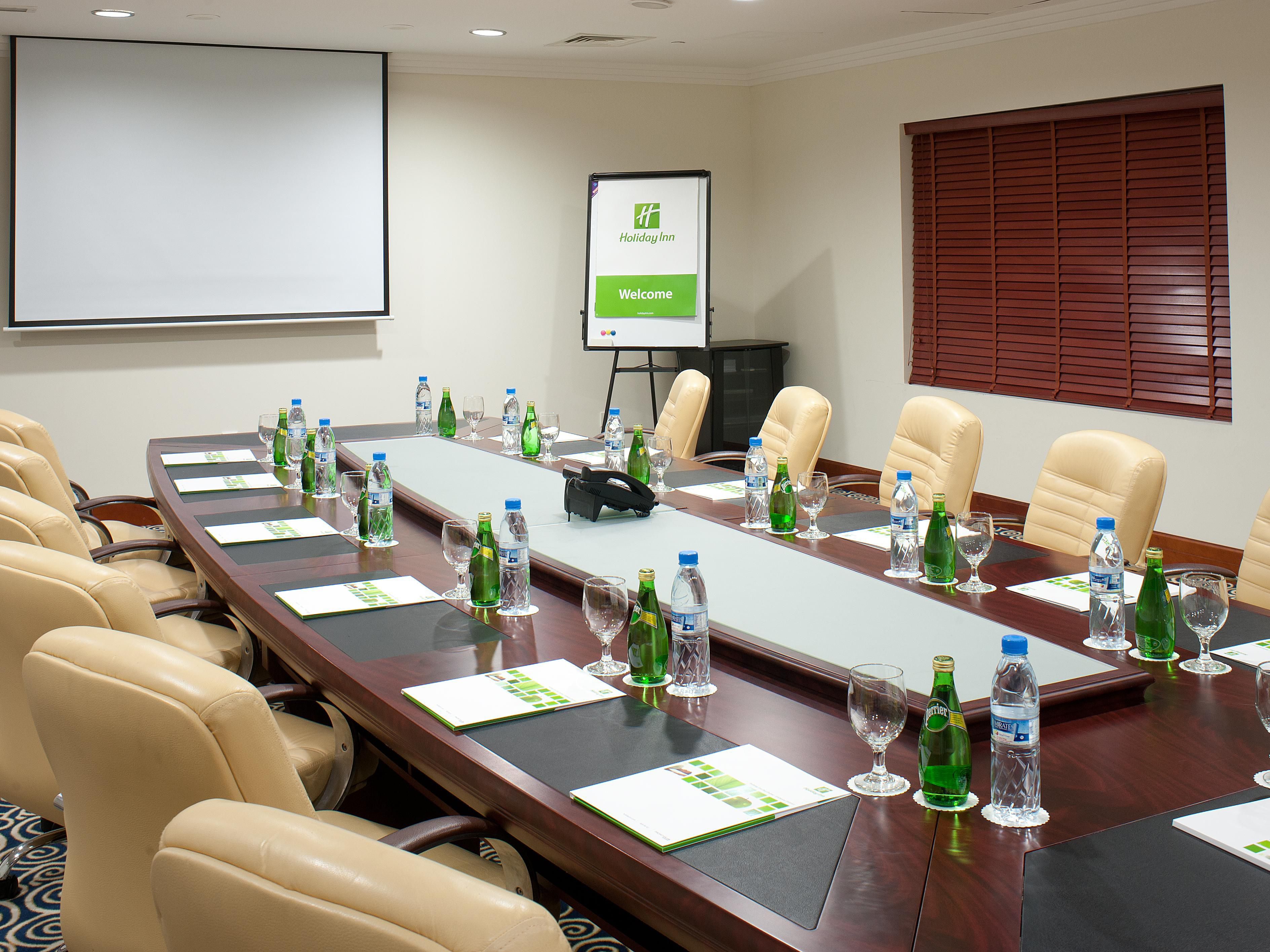 Your meeting at glance in our well-appointed meeting rooms