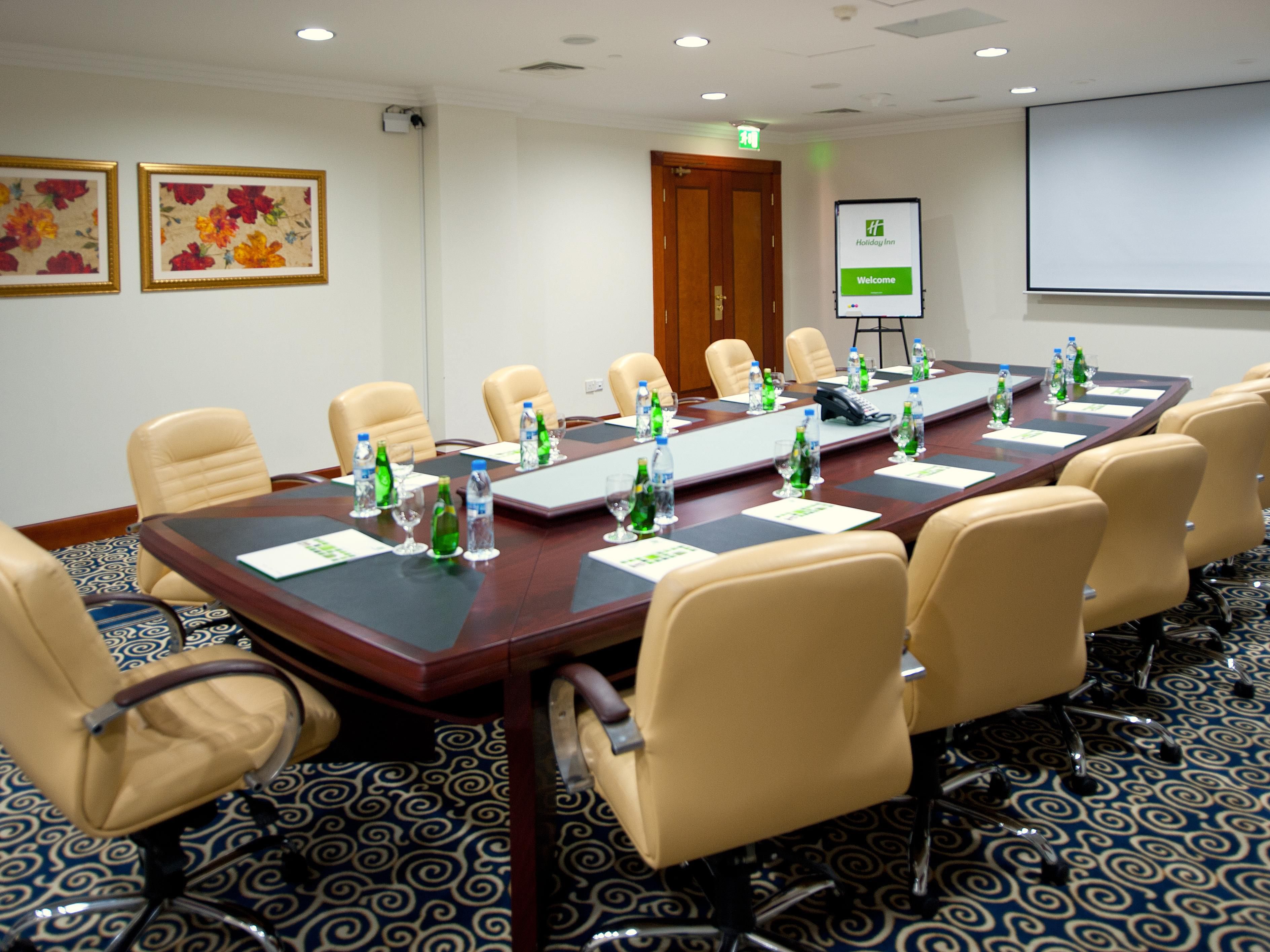 Conduct successful meetings in our well appointed meeting room