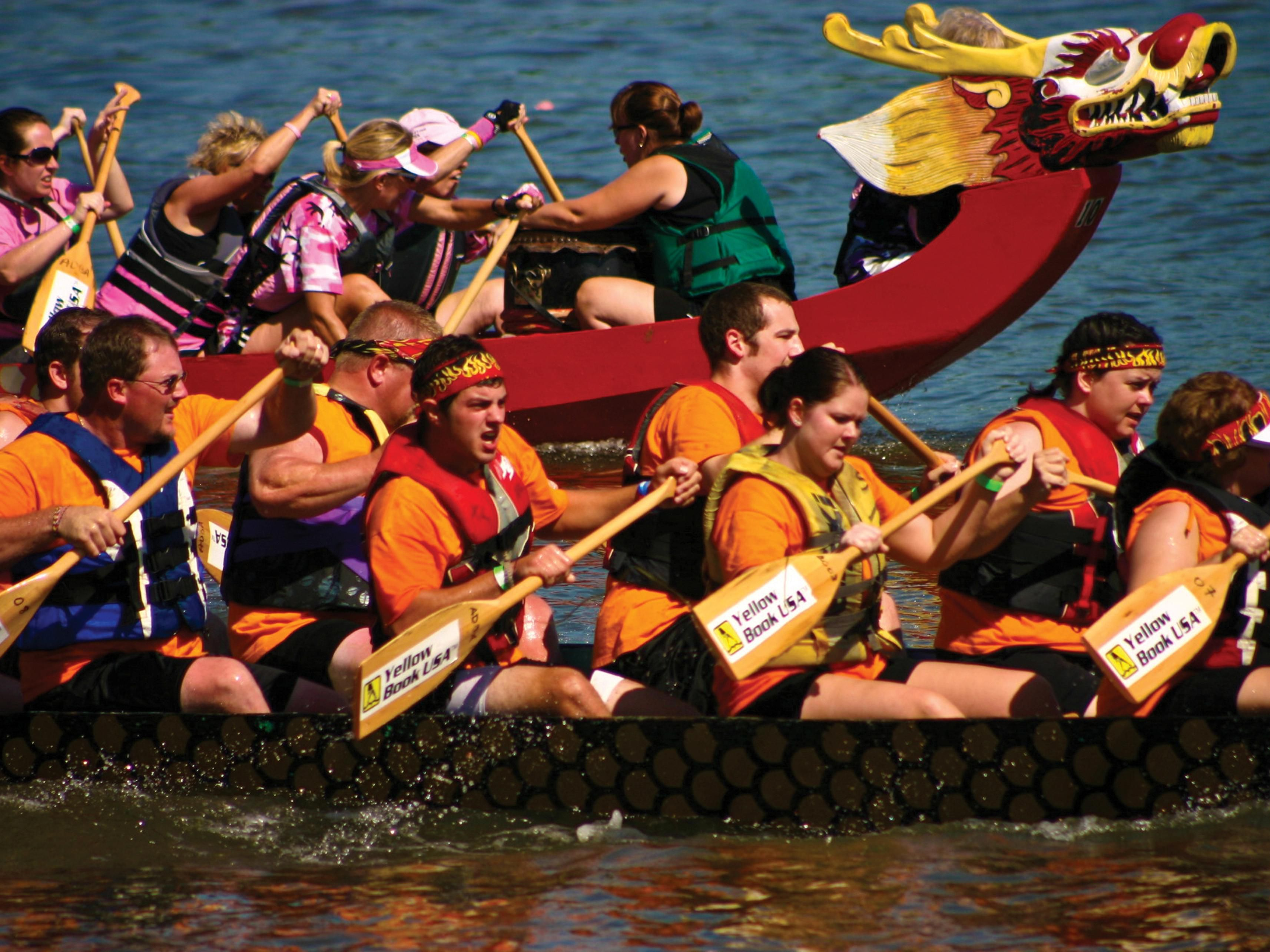 September's Dragon Boat Festival is a must-see on the Mississippi