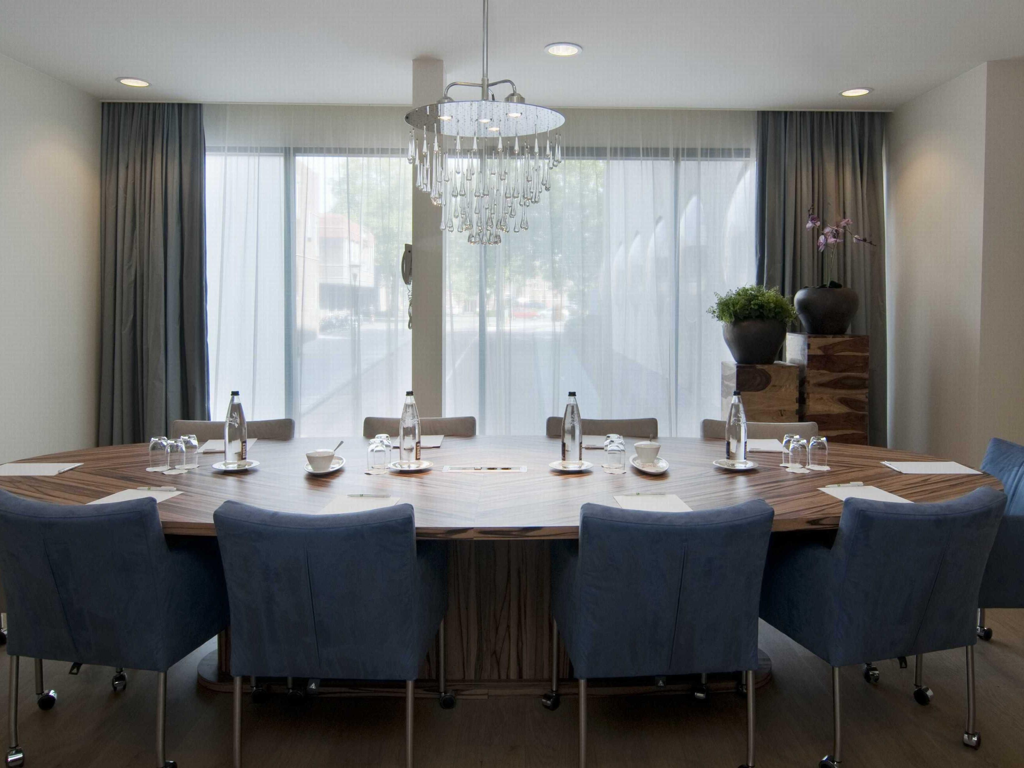 Our boardroom is perfect for private meetings