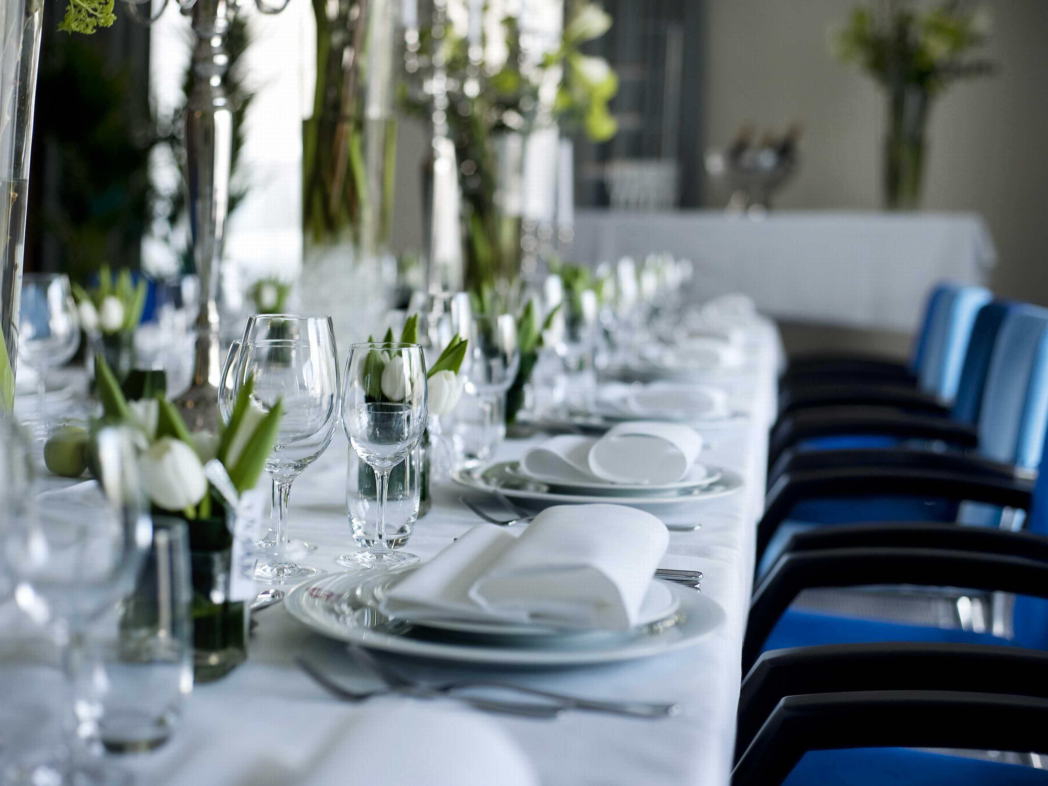 Enjoy a lovely tailor-made private dinner