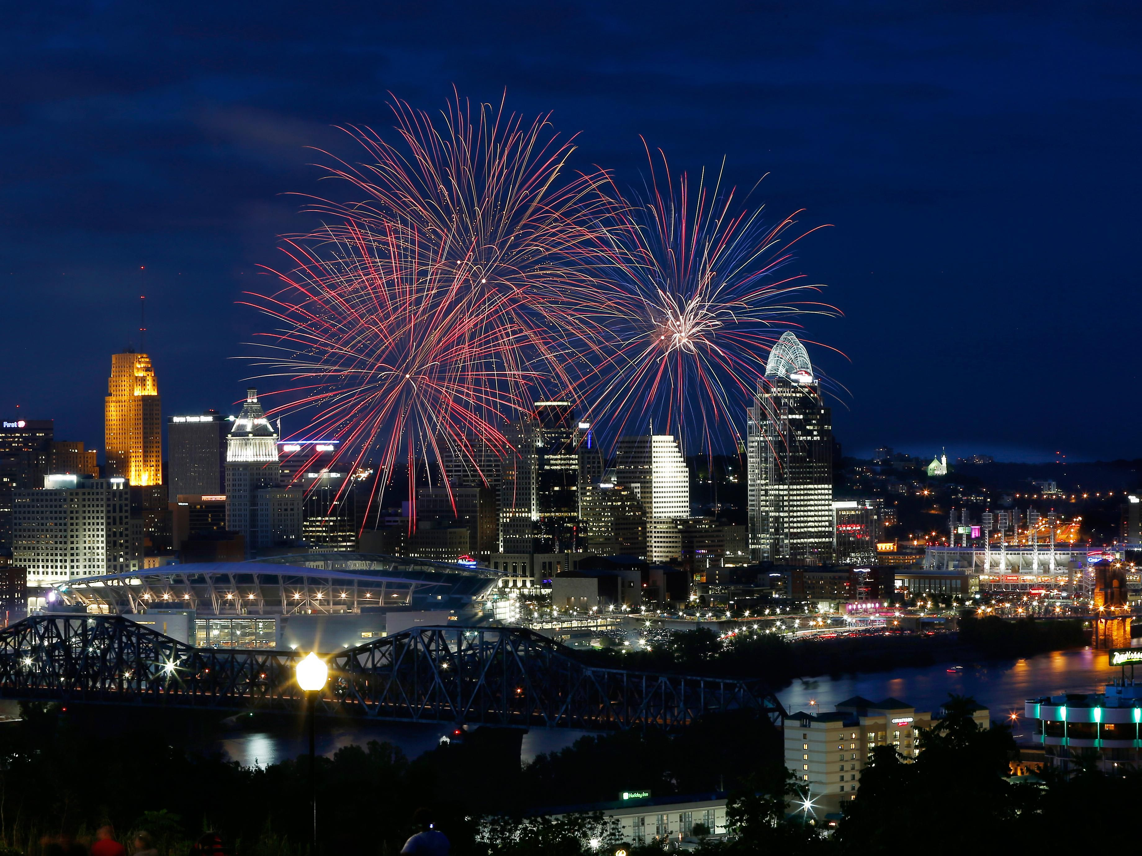 Cincinnati Downtown & Paul Brown Stadium