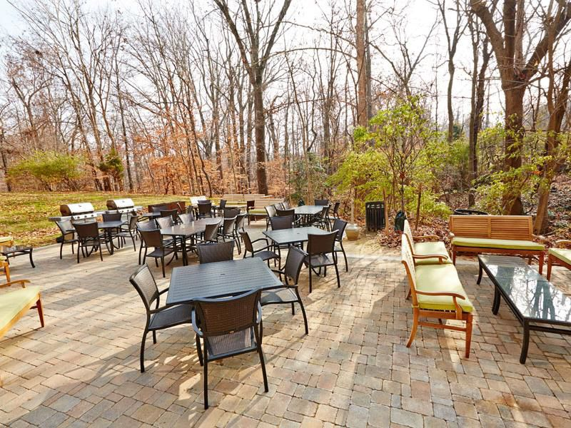 Cook out on the grill with our spacious patio