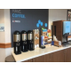 24-hour coffee available in building 2107