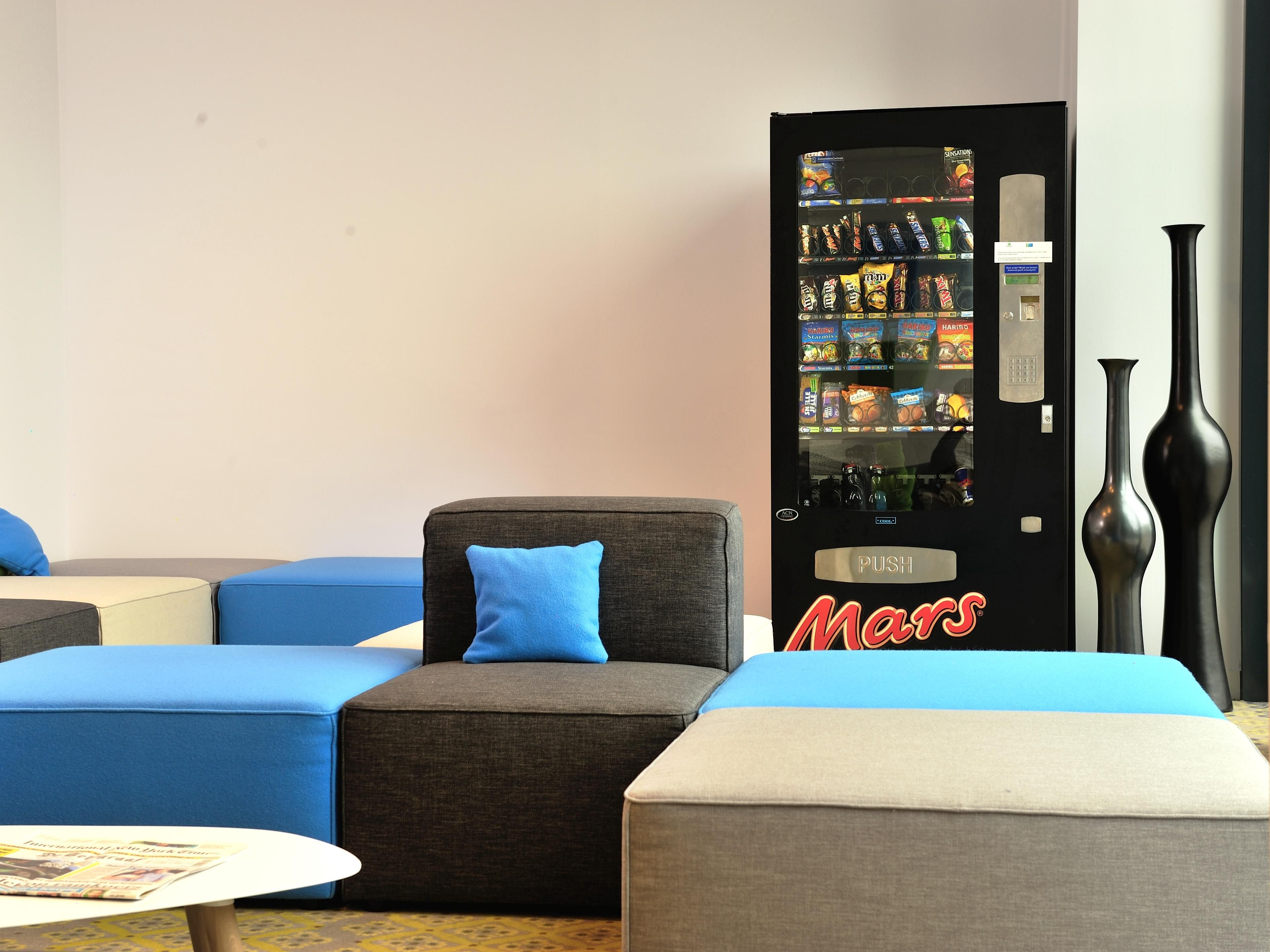 Vending in our lounge.