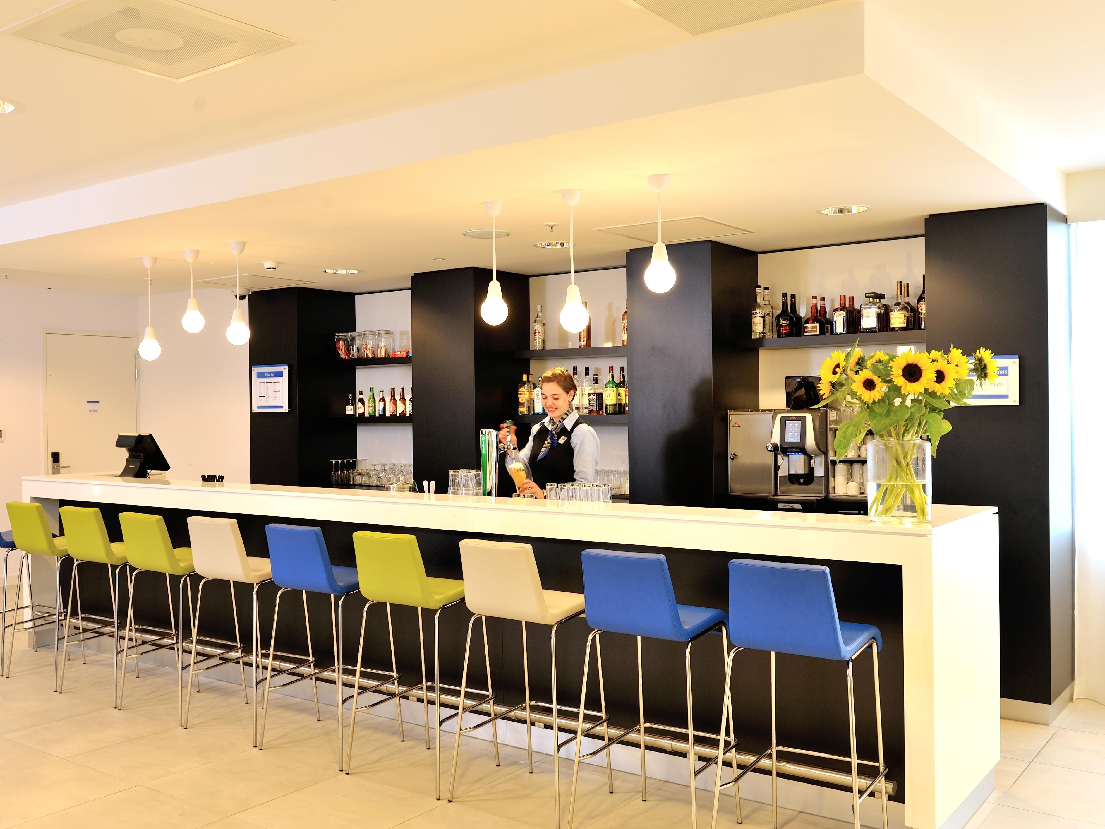 Enjoy a drink in our Great Room Bar