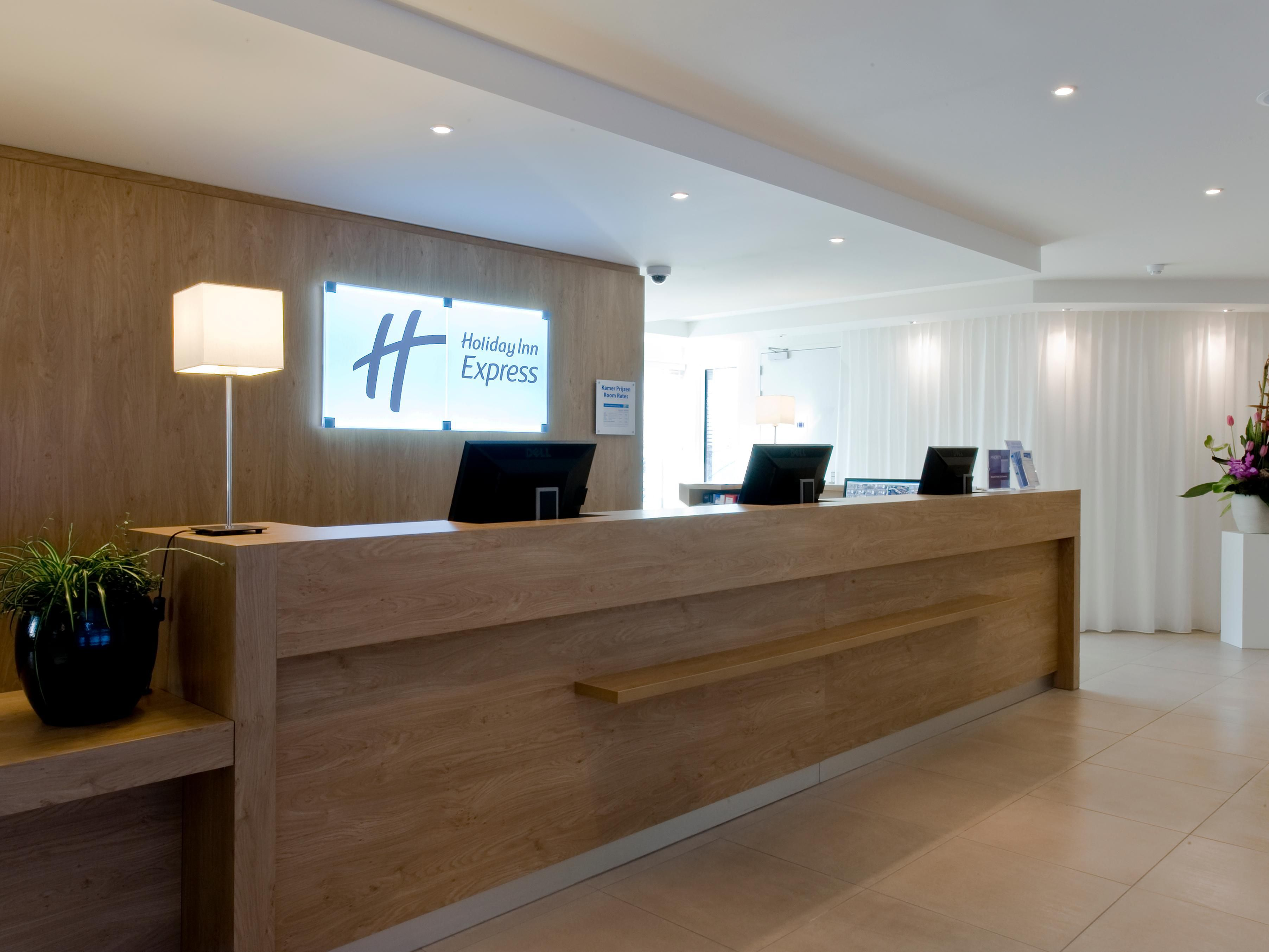 Our colleagues welcome you in our Amsterdam City Center hotel