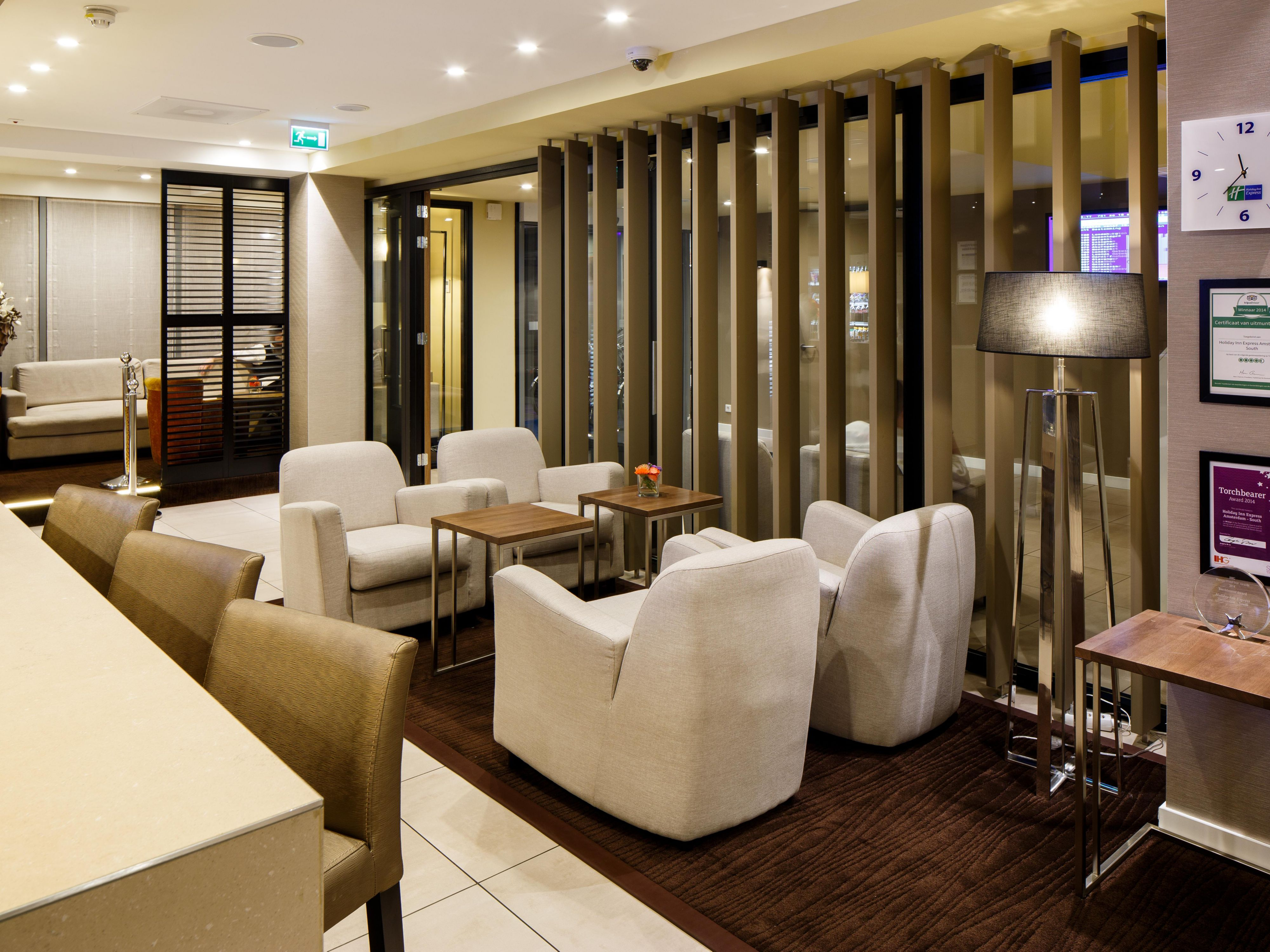 Sip a cold beer in our Lounge Bar