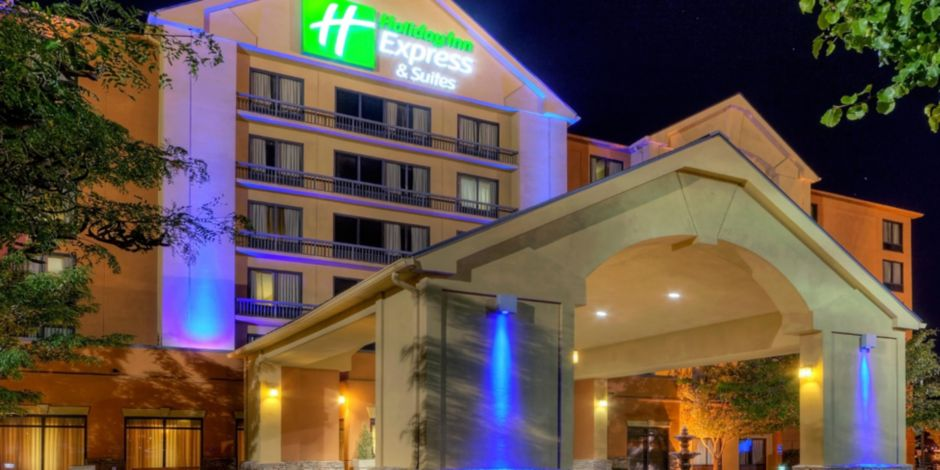 Albuquerque Holiday Inn Express Midtown Hotel Exterior