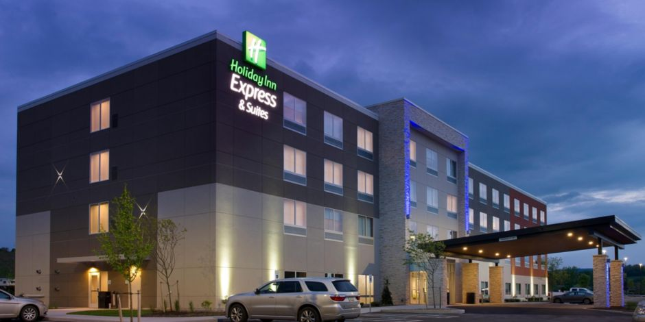 The Beautiful Holiday Inn Express Suites Altoona Built