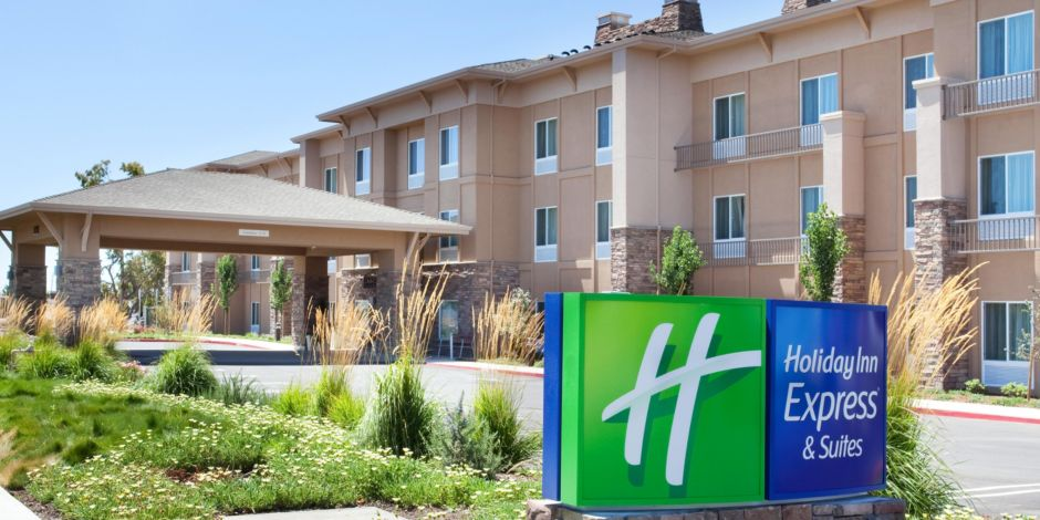 Holiday Inn Express Suites Napa ValleyAmerican Canyon Hotel By IHG - Map of napa hotels