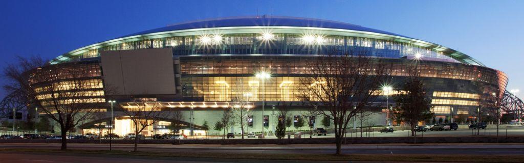 Texas Rangers Ballpark New Cowboy Stadium Hotel Exterior