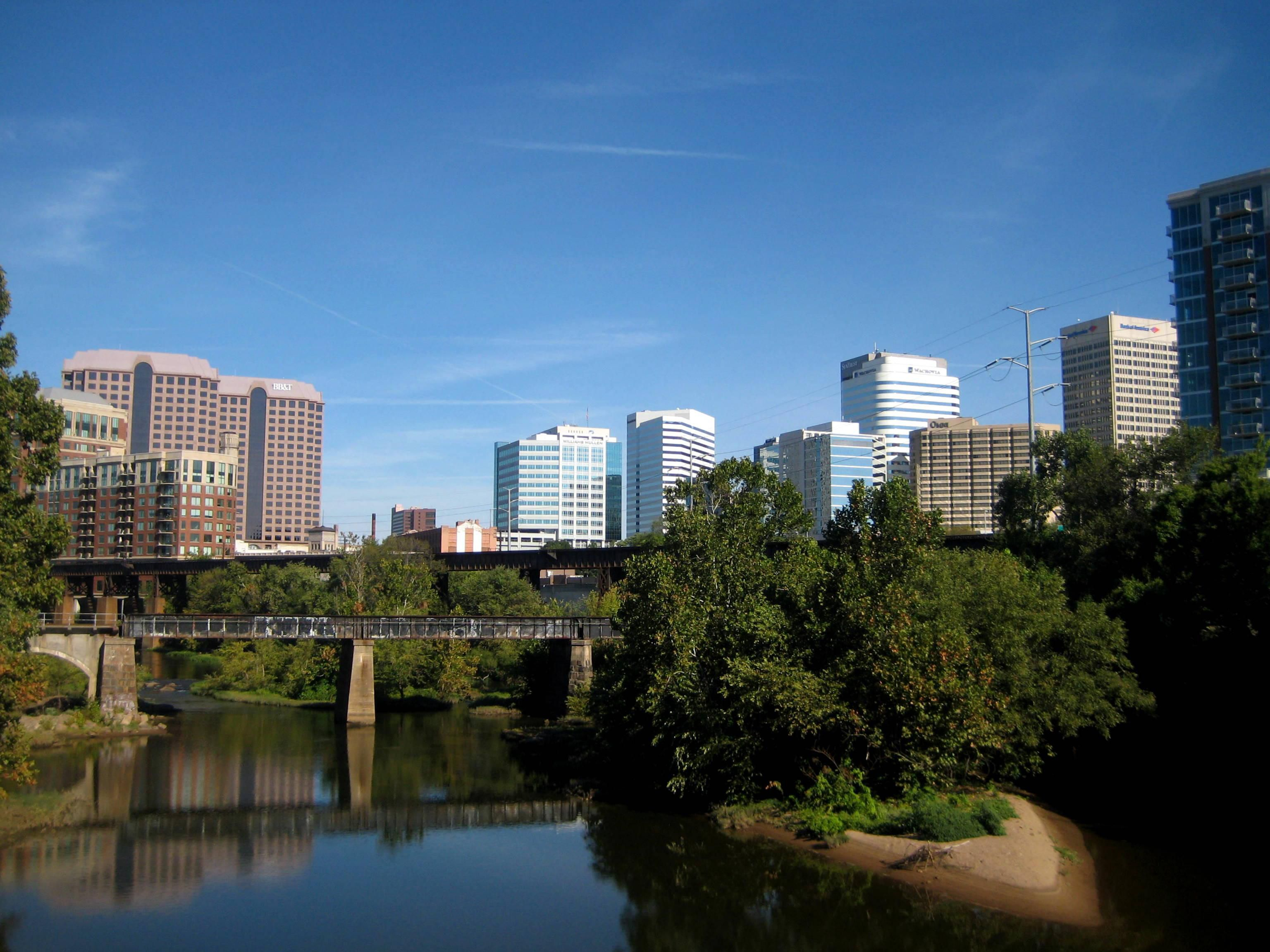 Historic Downtown Richmond, Virginia is a short drive away!