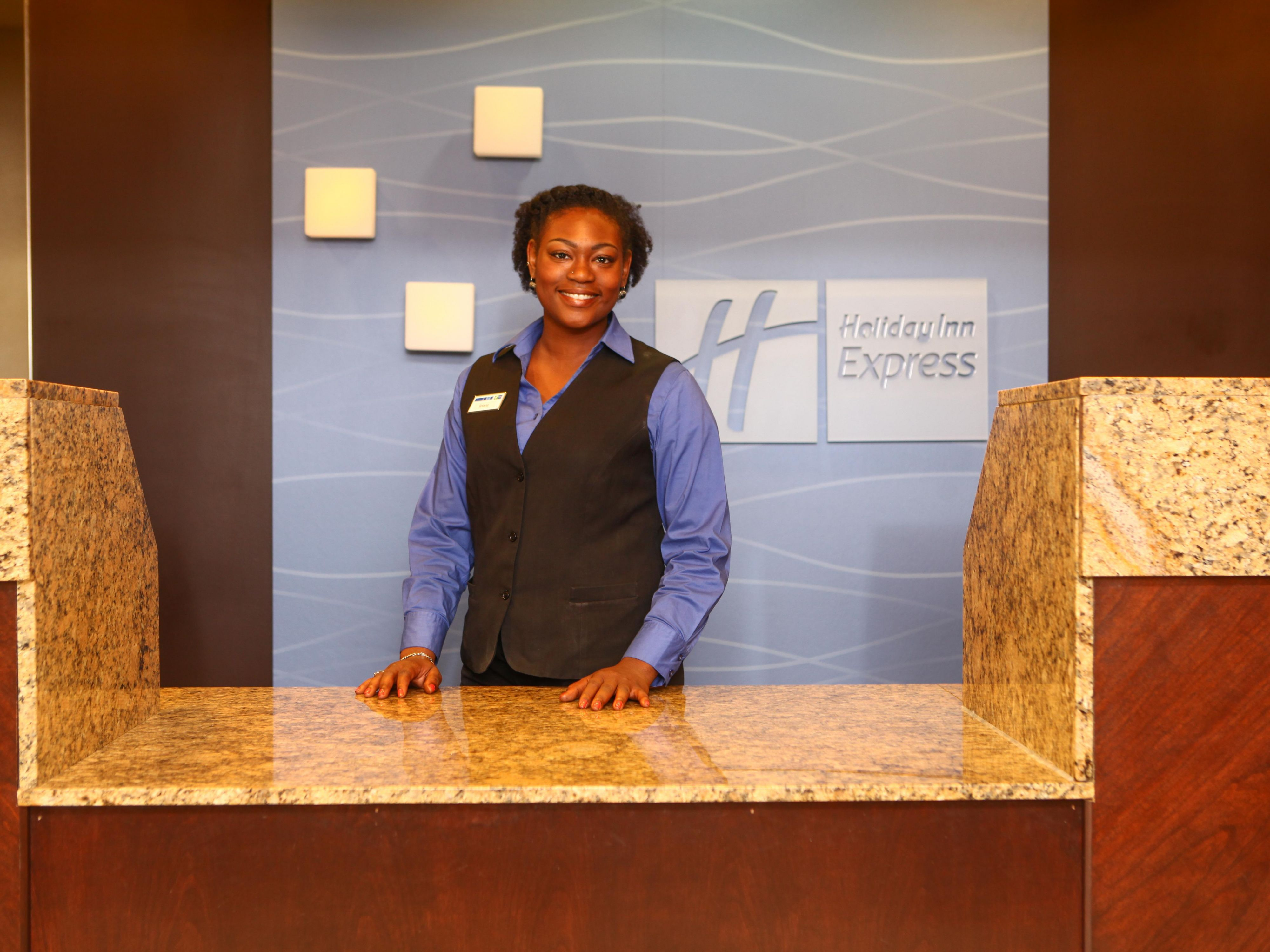 Front Desk Agent Welcomes You