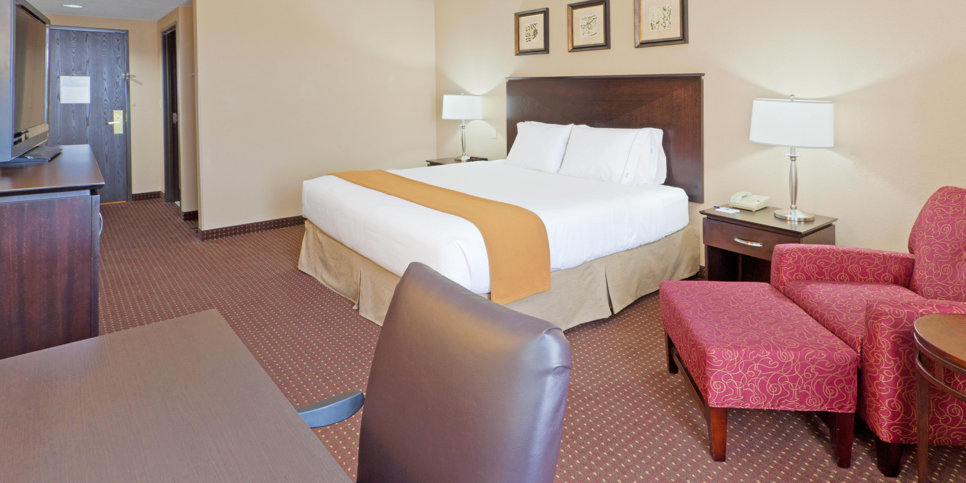 Our Spacious King Bed Guest Rooms Let You Relax U0026amp; ...