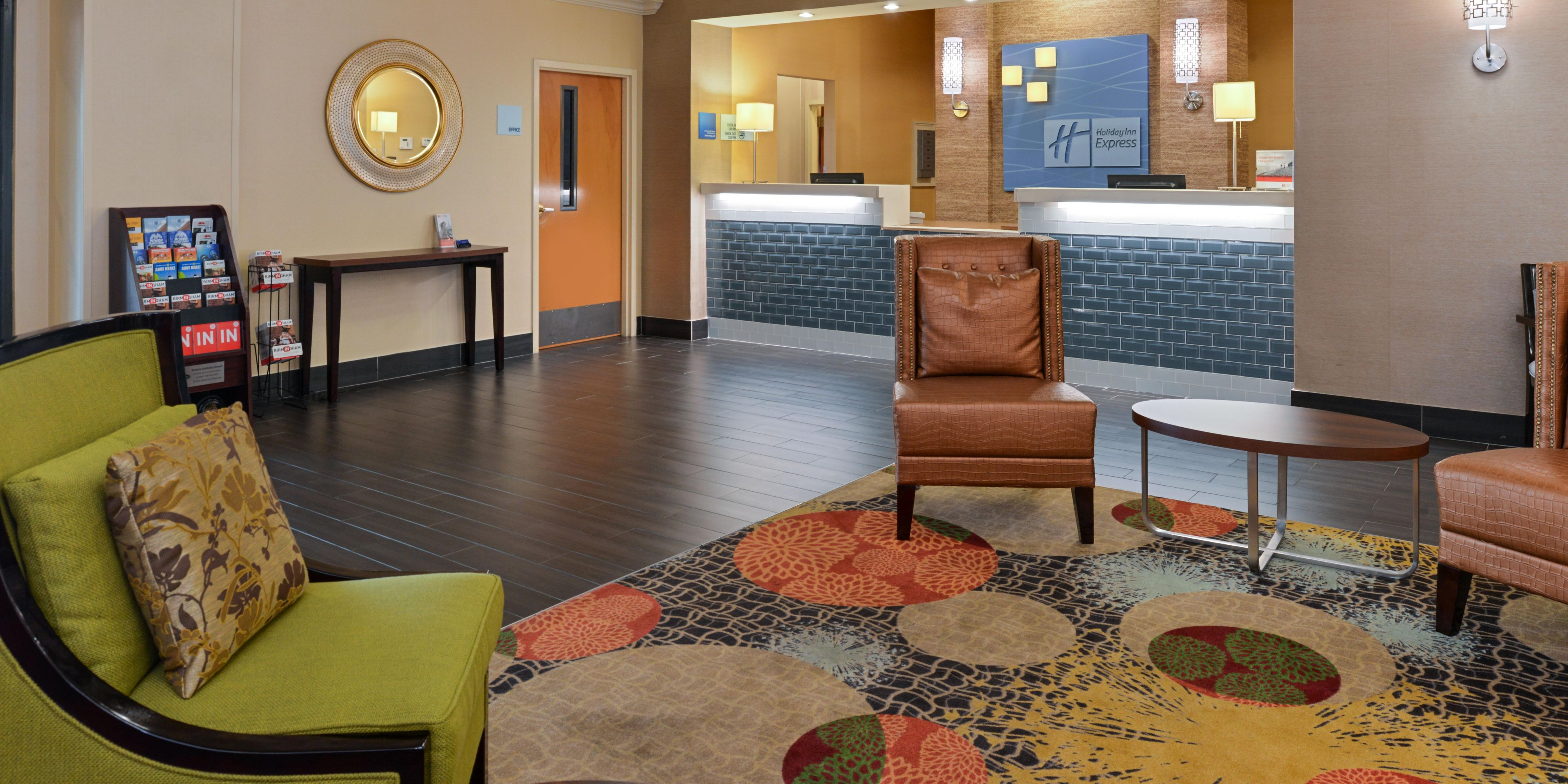 ... Welcoming Lobby Lounge At Holiday Inn Express Bessemer ...
