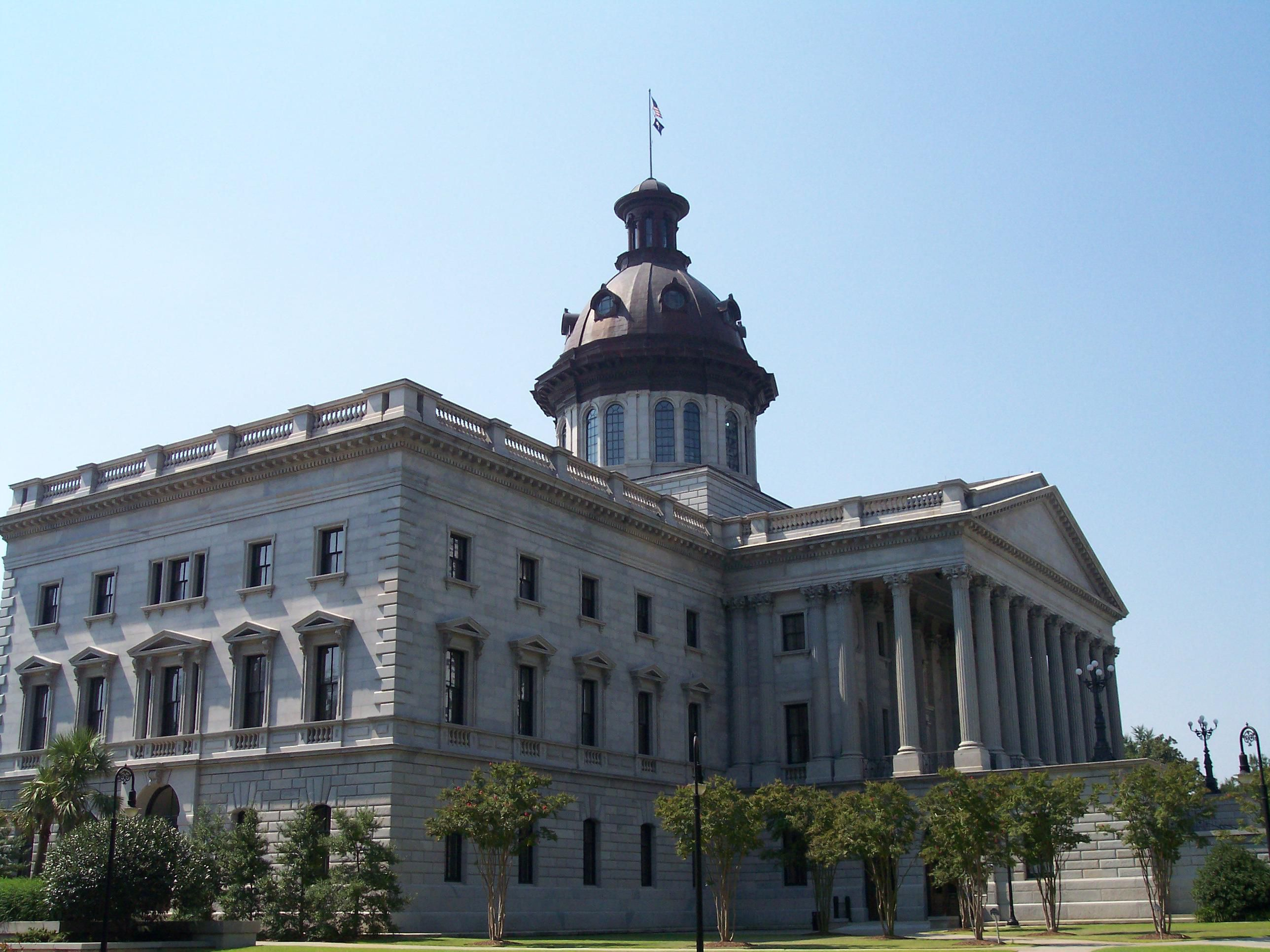 Columbia SC State Capital 15 Miles