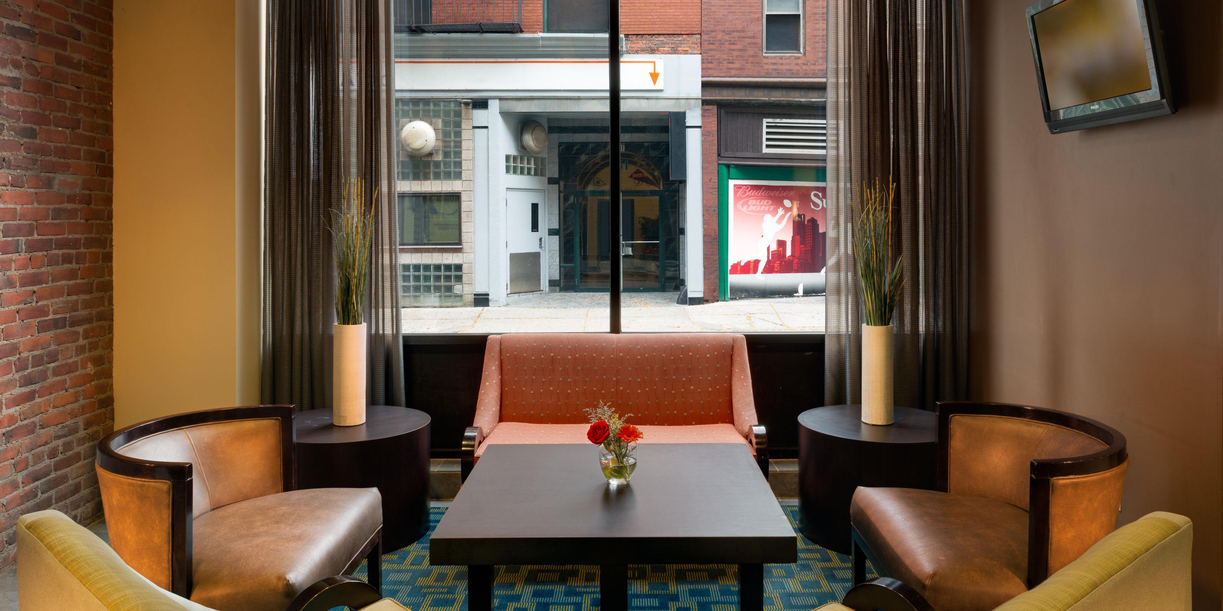 Hotel Lobby ...