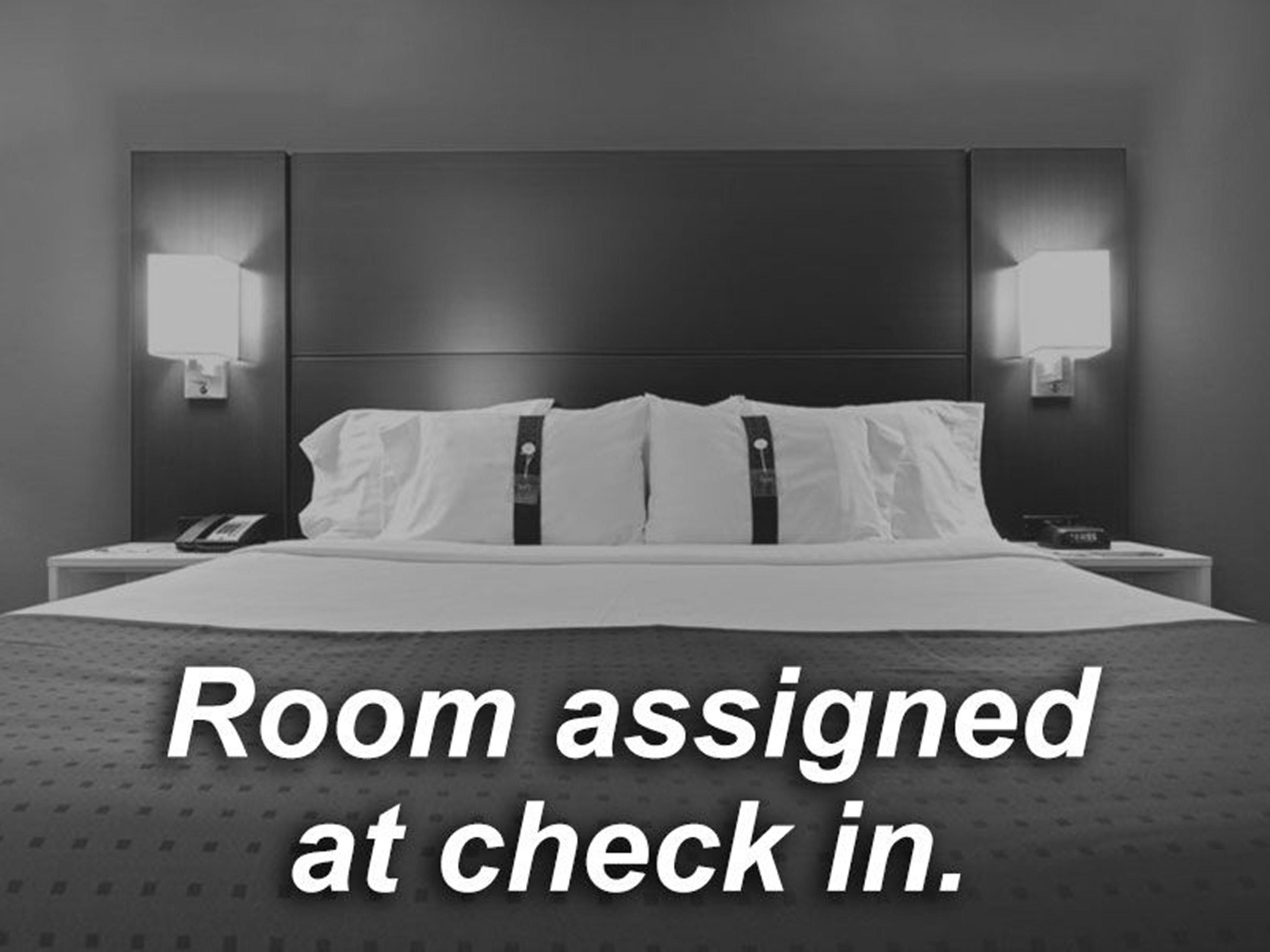 Guest Room Assigned at Check In