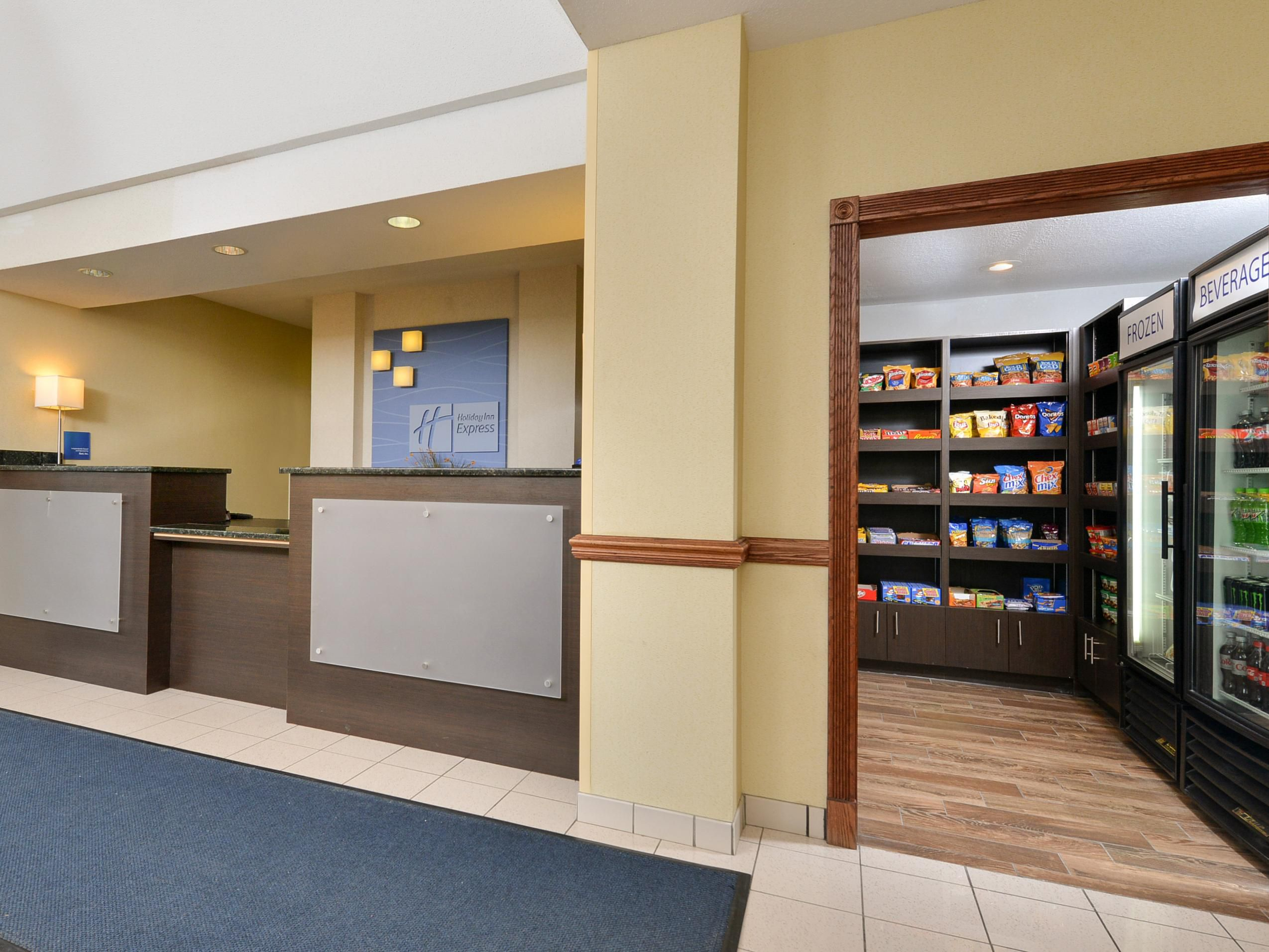 24 Hour Pantry and Front Desk