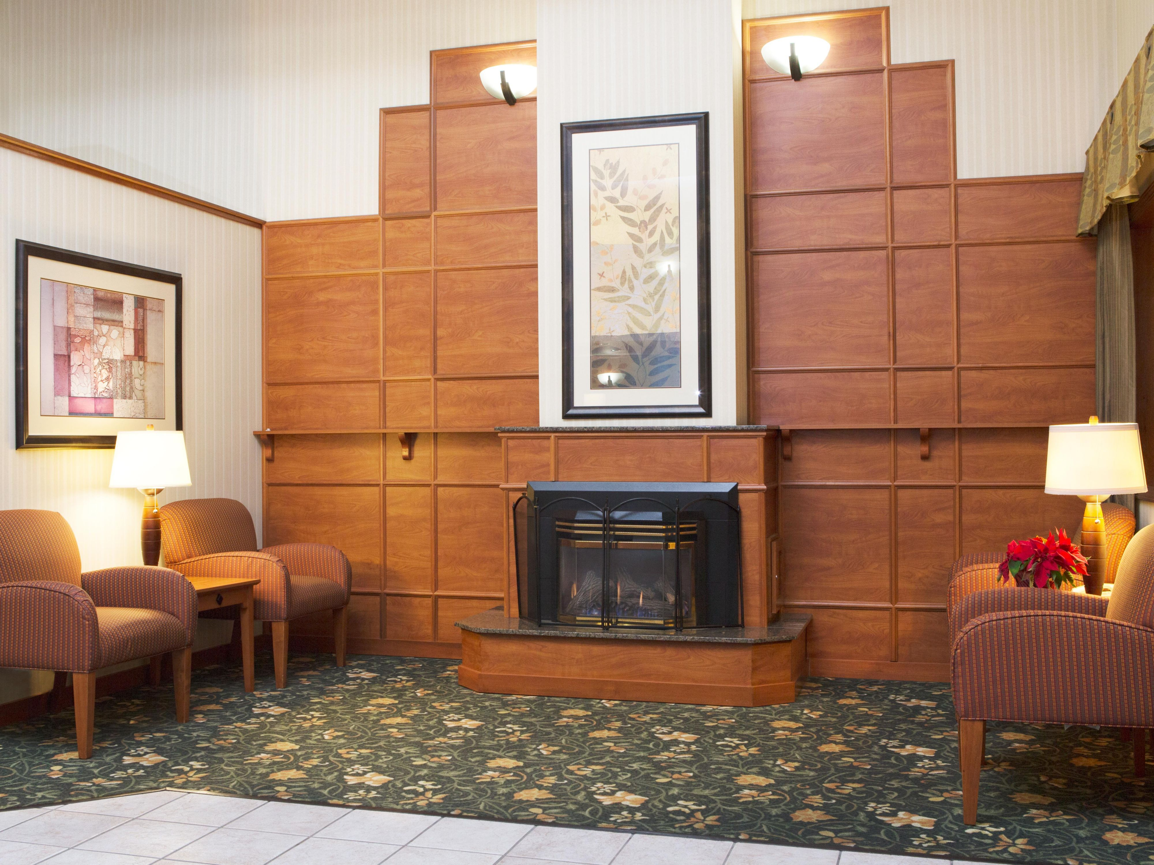 Contemporary Lobby Lounge