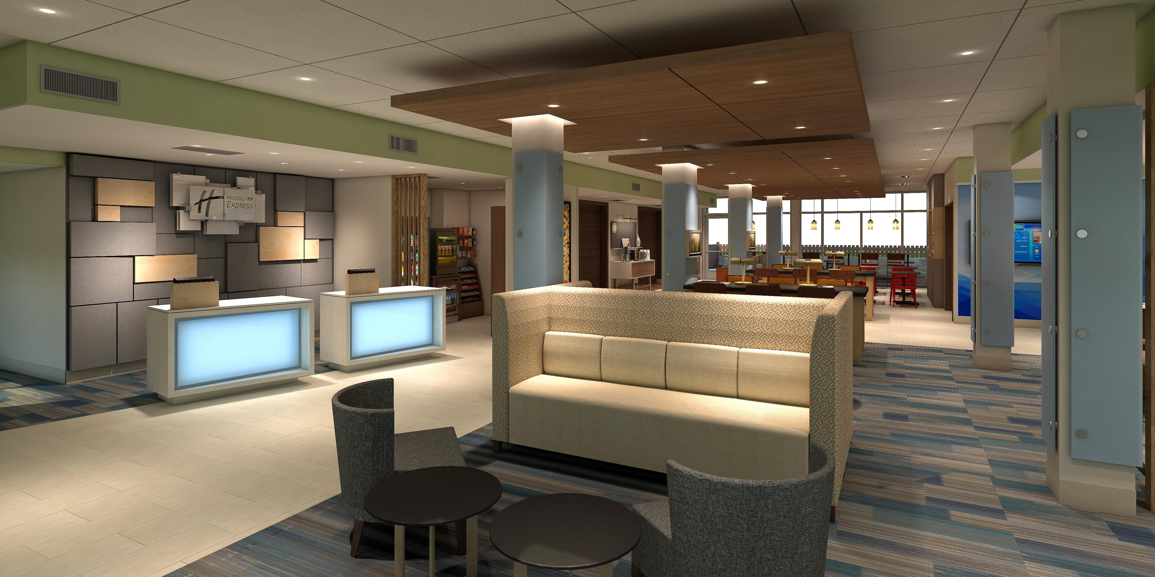 Holiday Inn Express Suites Omaha Airport Hotel by IHG