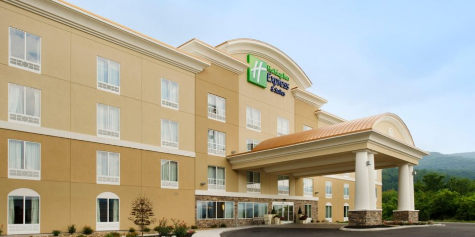 Welcome To The Holiday Inn Express Suites Caryville Tn