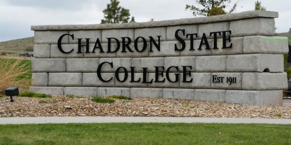 Chadron State College Sign By Holiday Inn Express