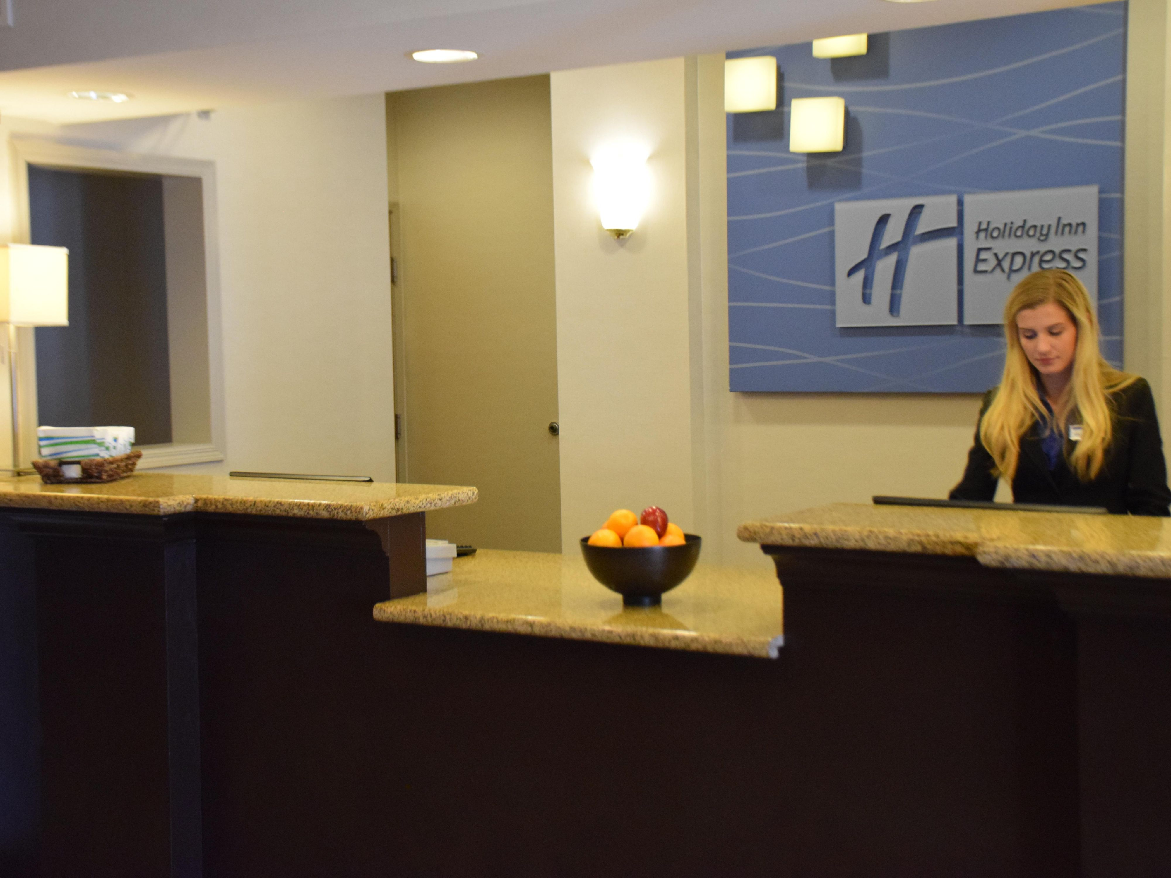 Welcome to the Holiday Inn Express Chanhassen!