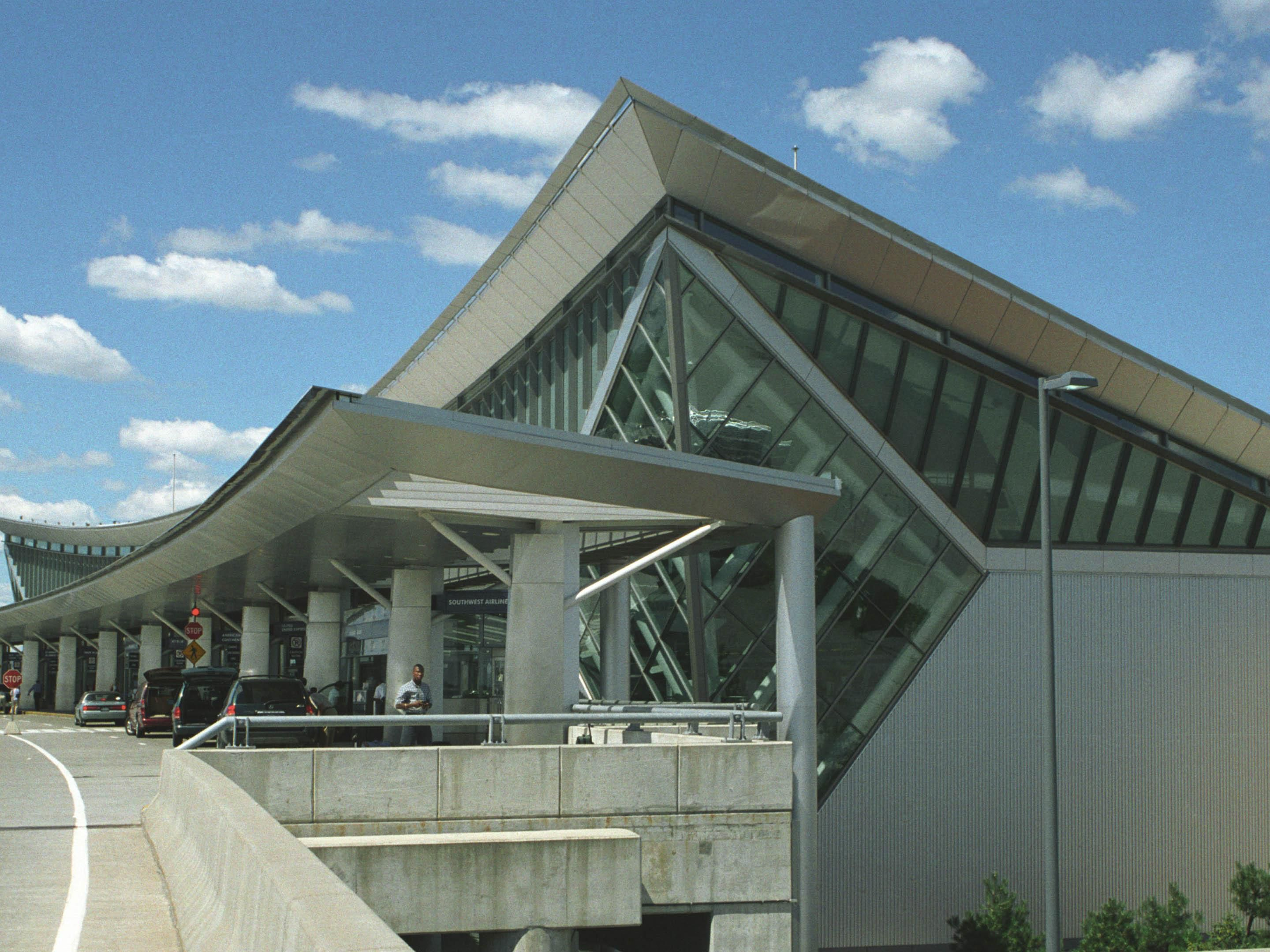 Across the street from the Buffalo Niagara International Airport