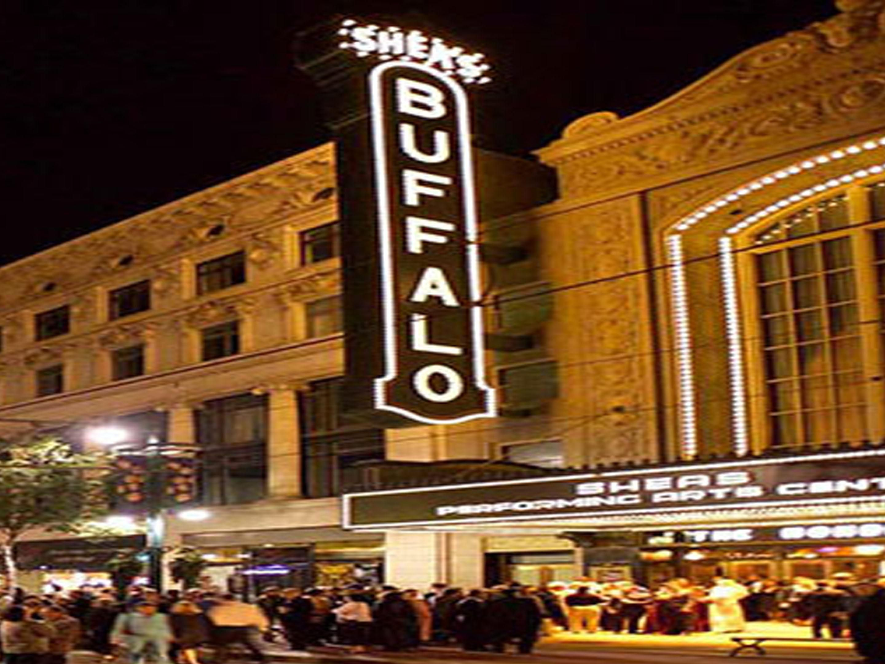 Short drive to downtown Buffalo.