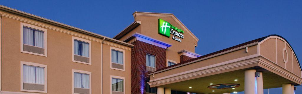 Entrance Hotel At Dusk