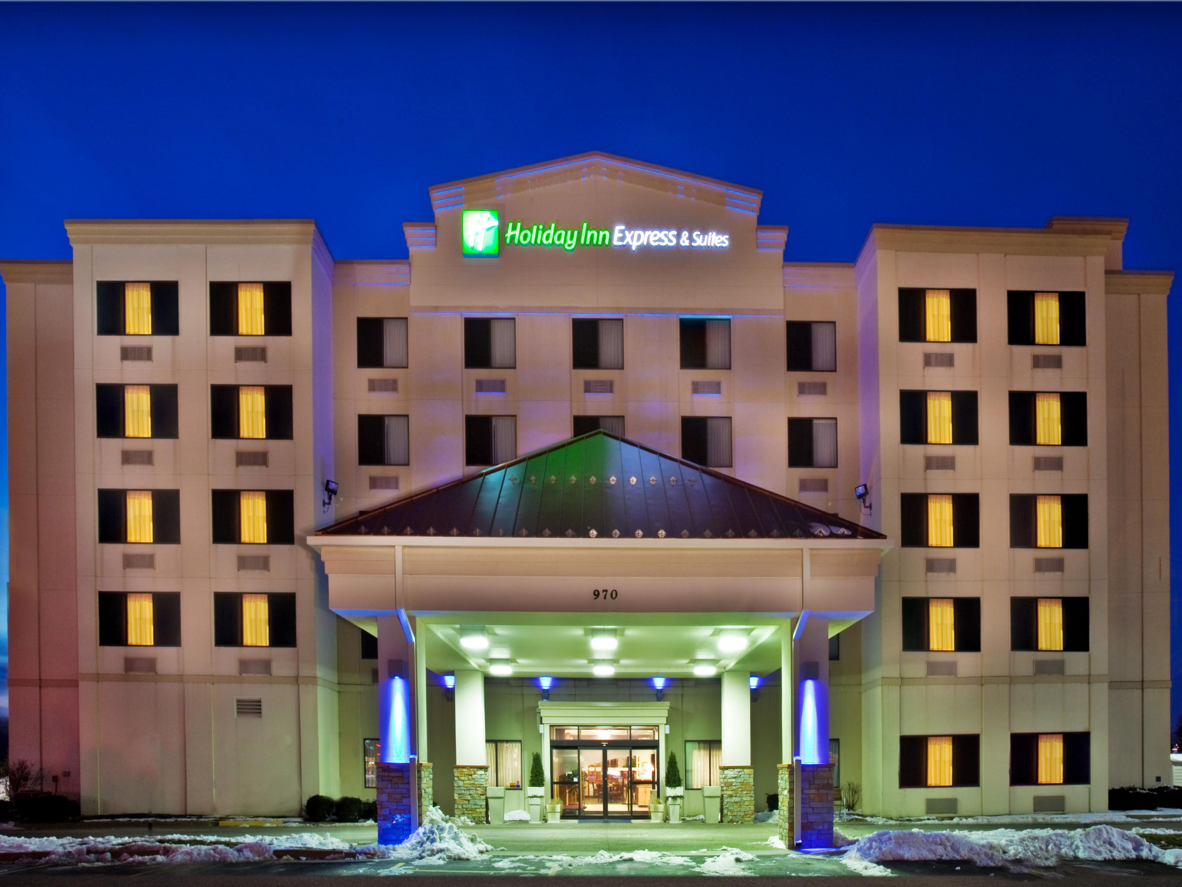 Welcome to the Holiday Inn Express Coralville, Iowa Hotel!