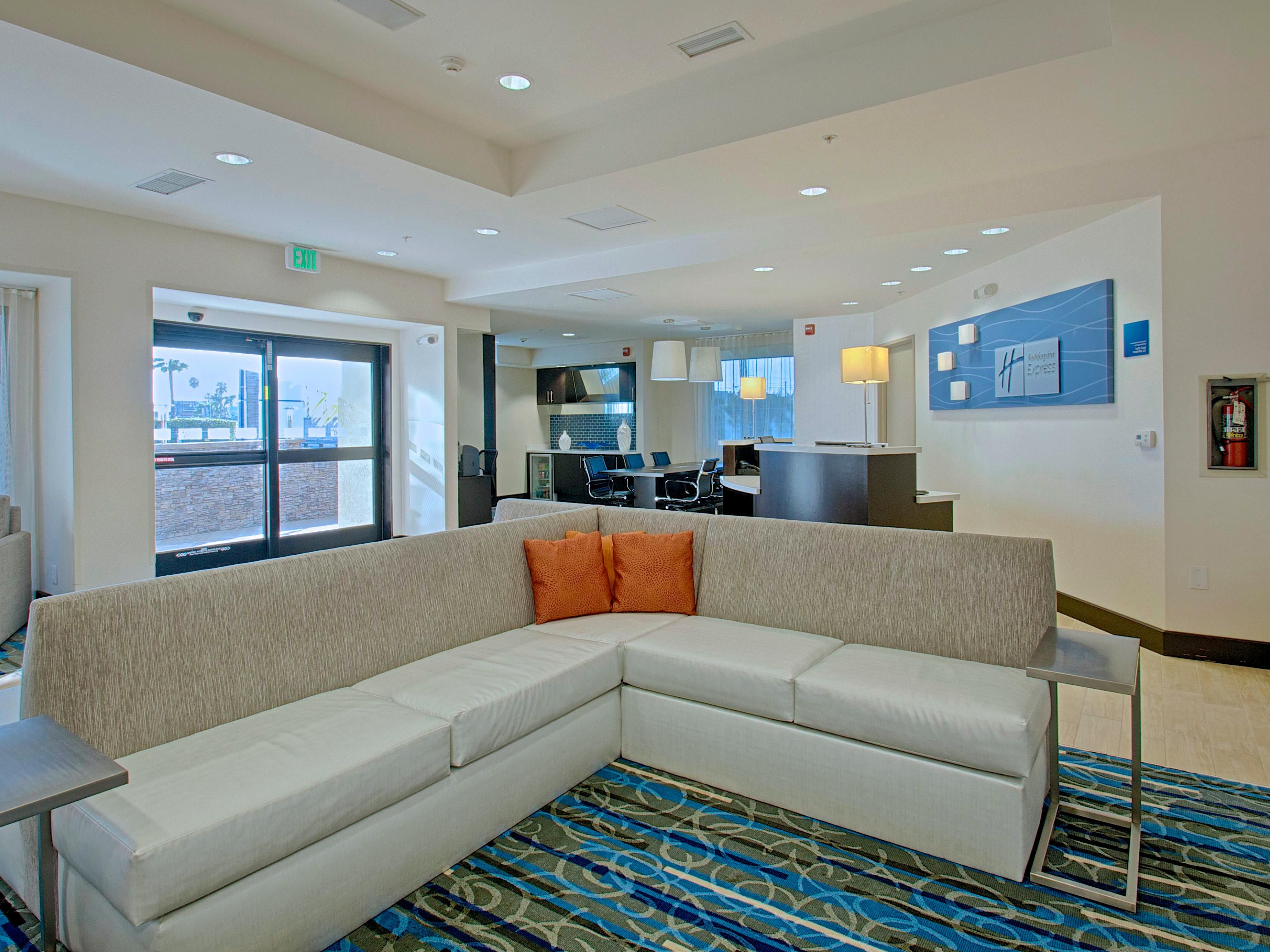 Sit back and relax in the newly remodeled lobby
