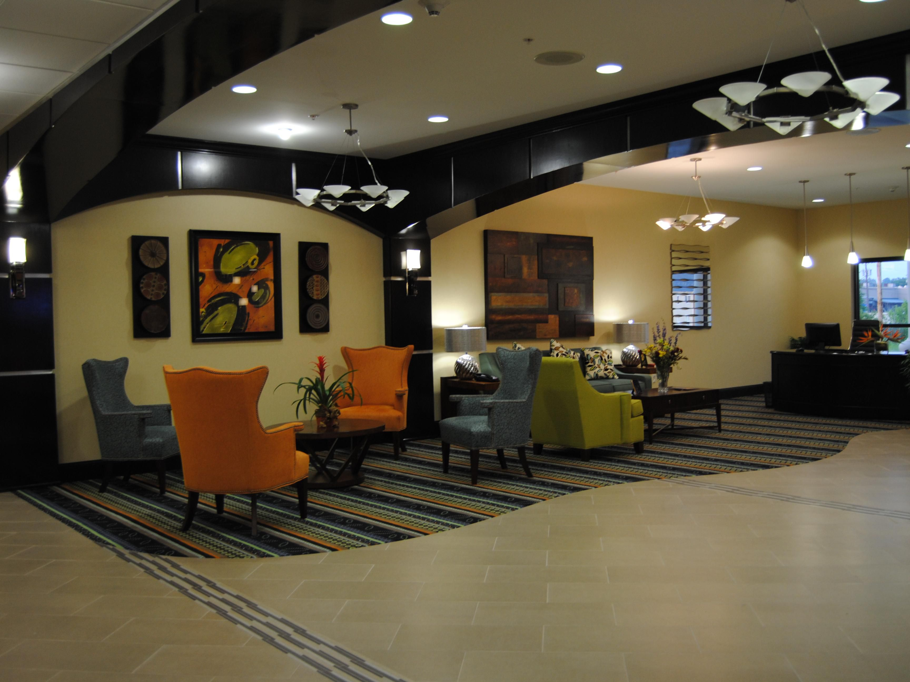 Hotel Lobby / Business Center